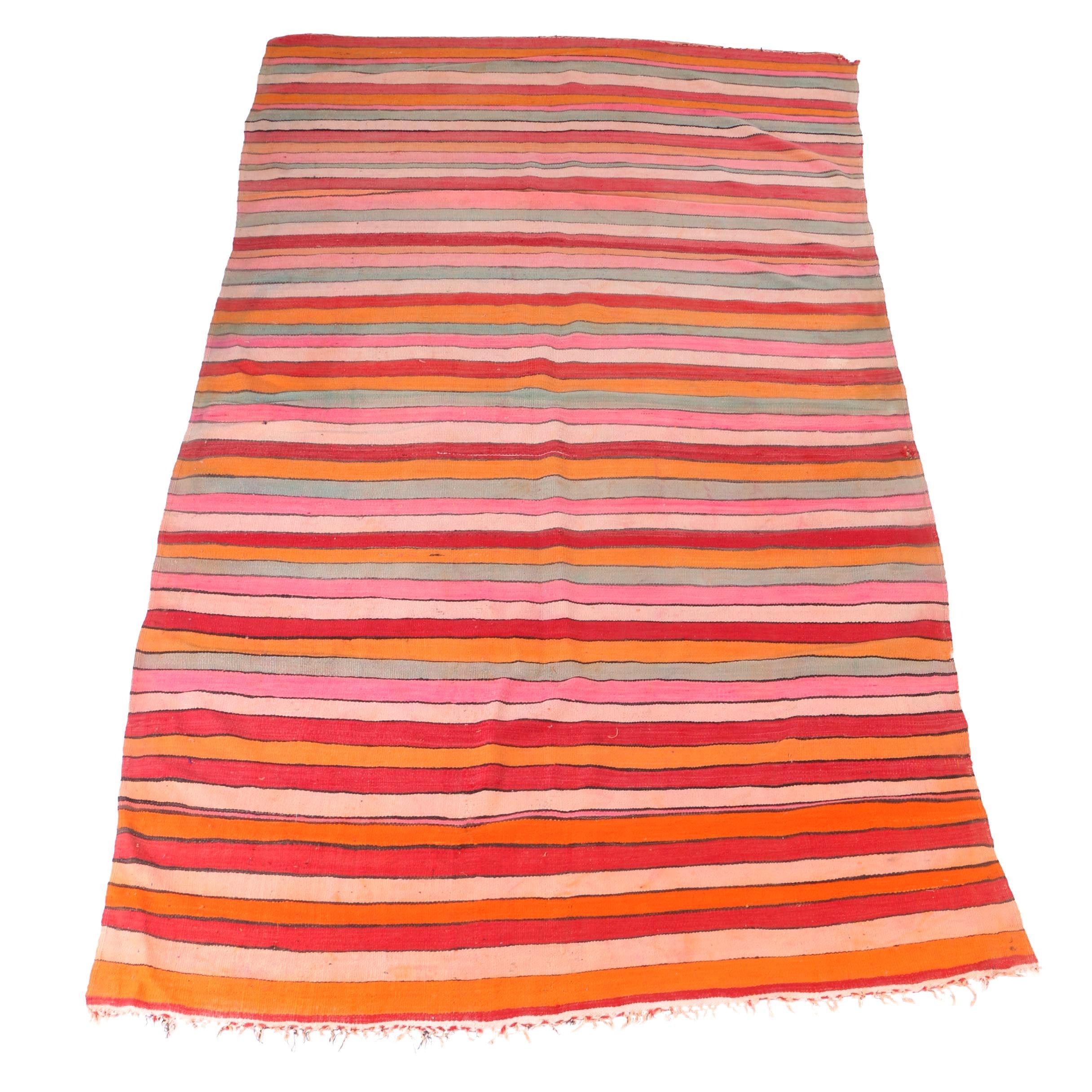 Handwoven Berber Blanket or Area Rug