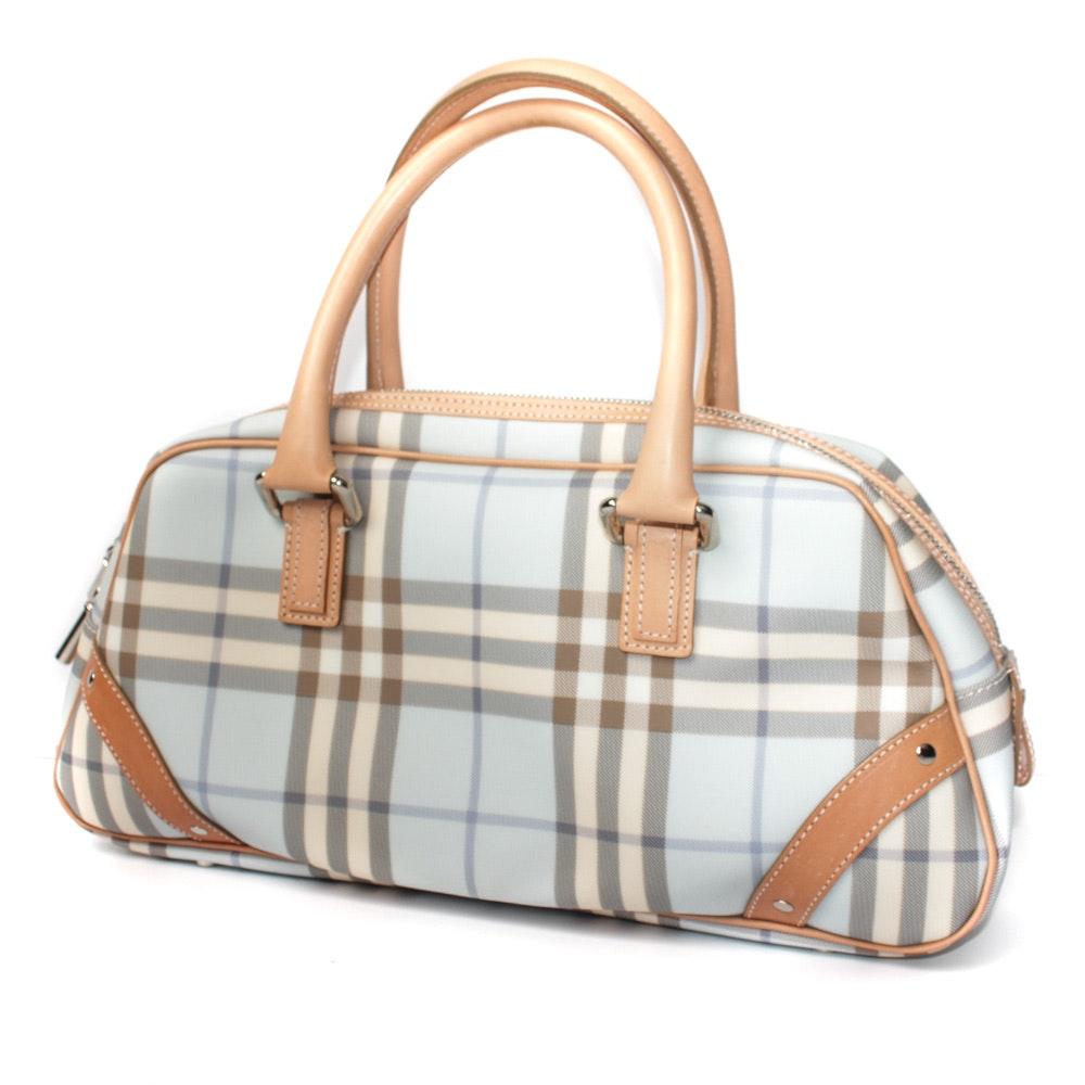 Burberry Blue Shoulder Bag