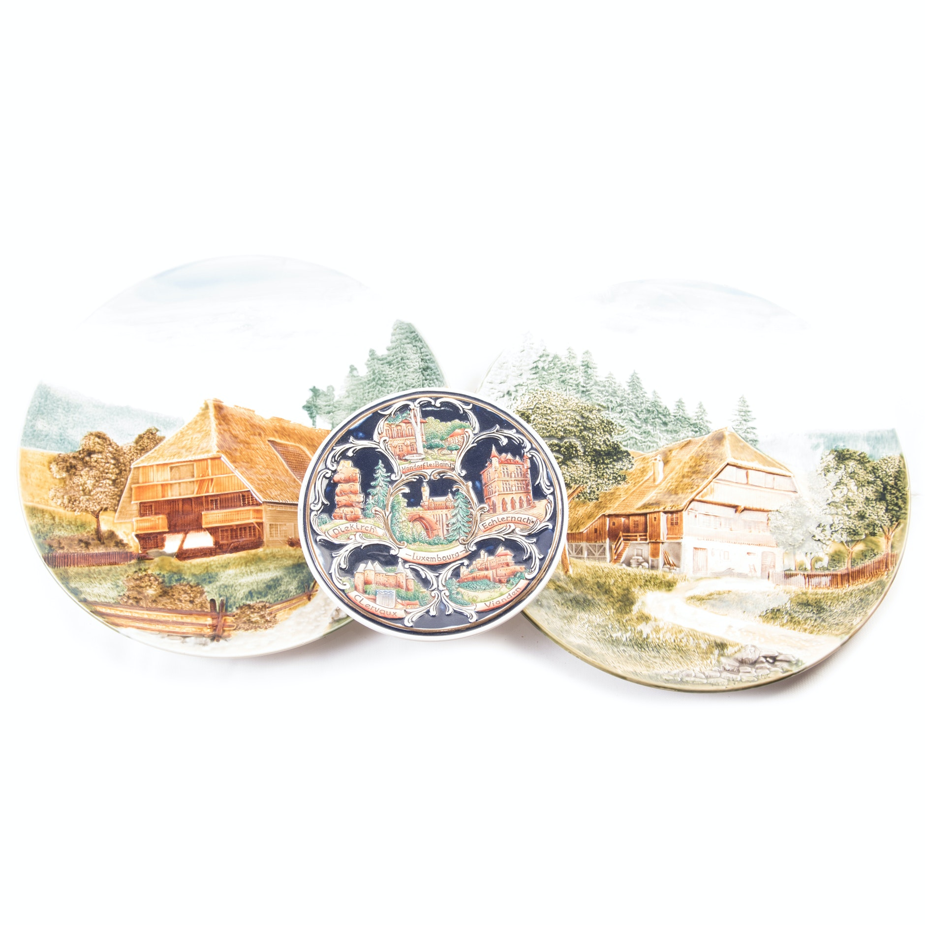 German Decorative Plate Collection