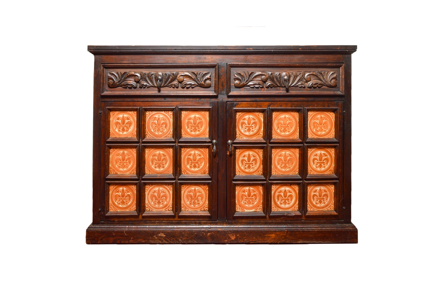 Artes De Mexico Handmade Pine And Tile Buffet ...