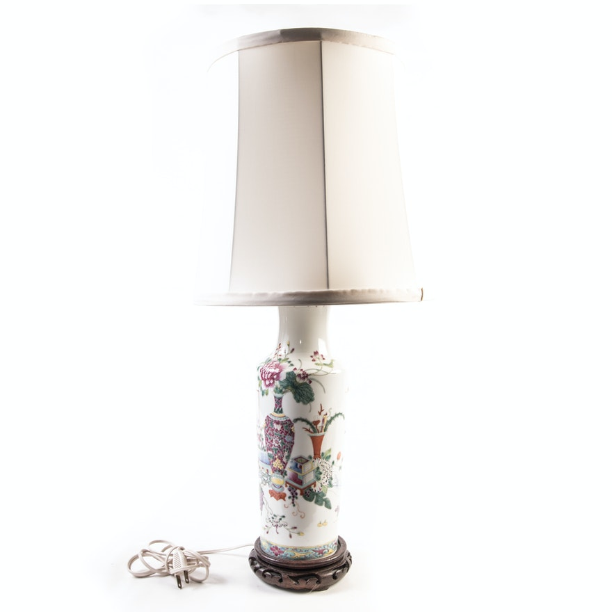 Asian inspired table lamp ebth asian inspired table lamp aloadofball Image collections