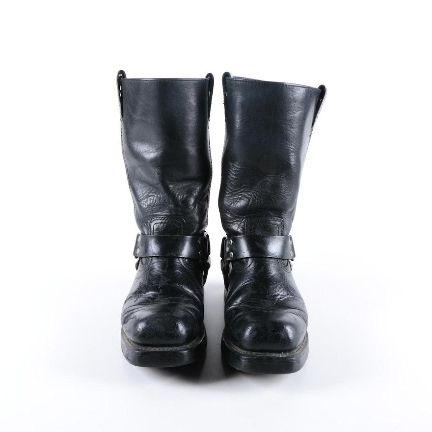 55afe8b063cd Women s Harley-Davidson Black Leather Boots   EBTH