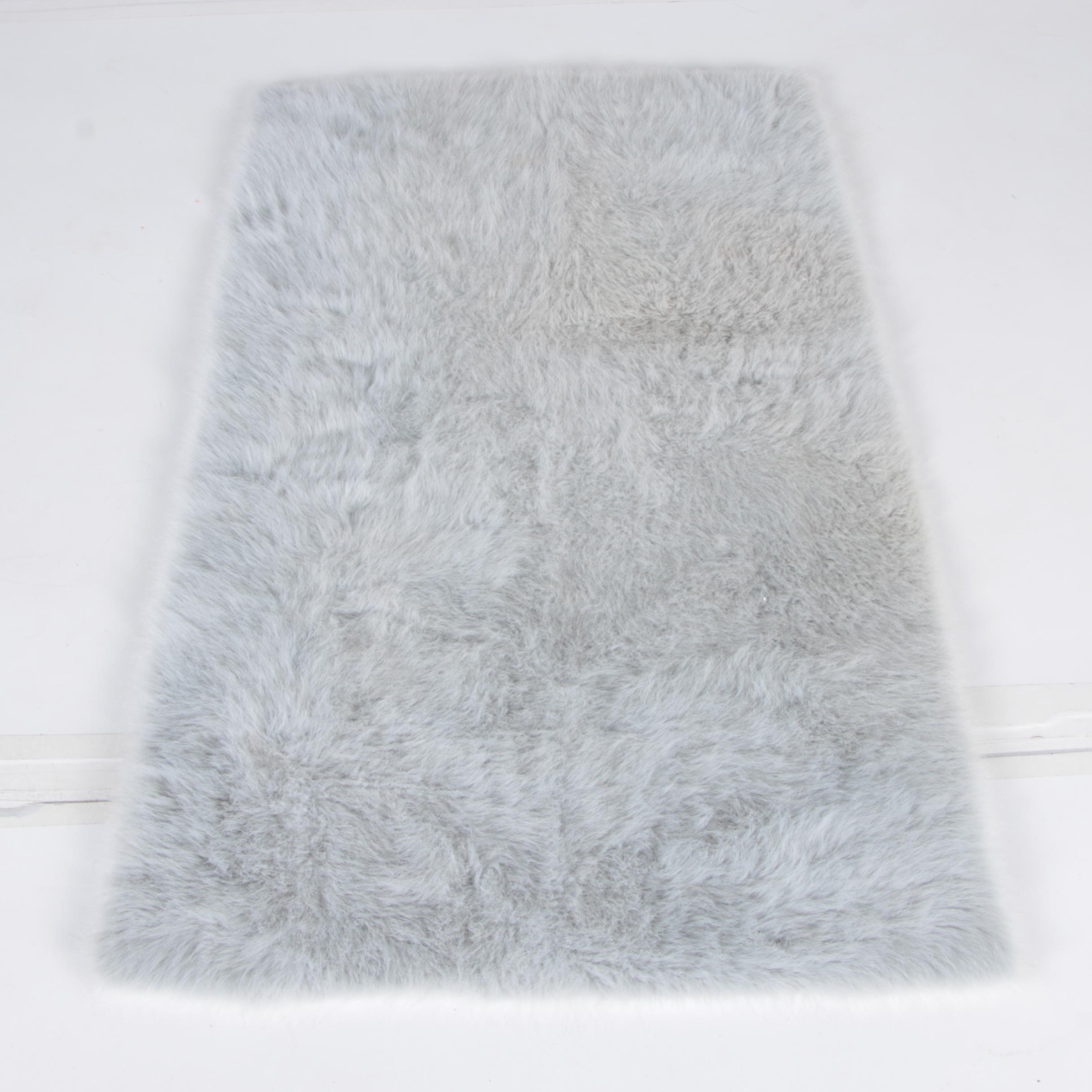 Dynamic Rugs Faux Fur Area Rug