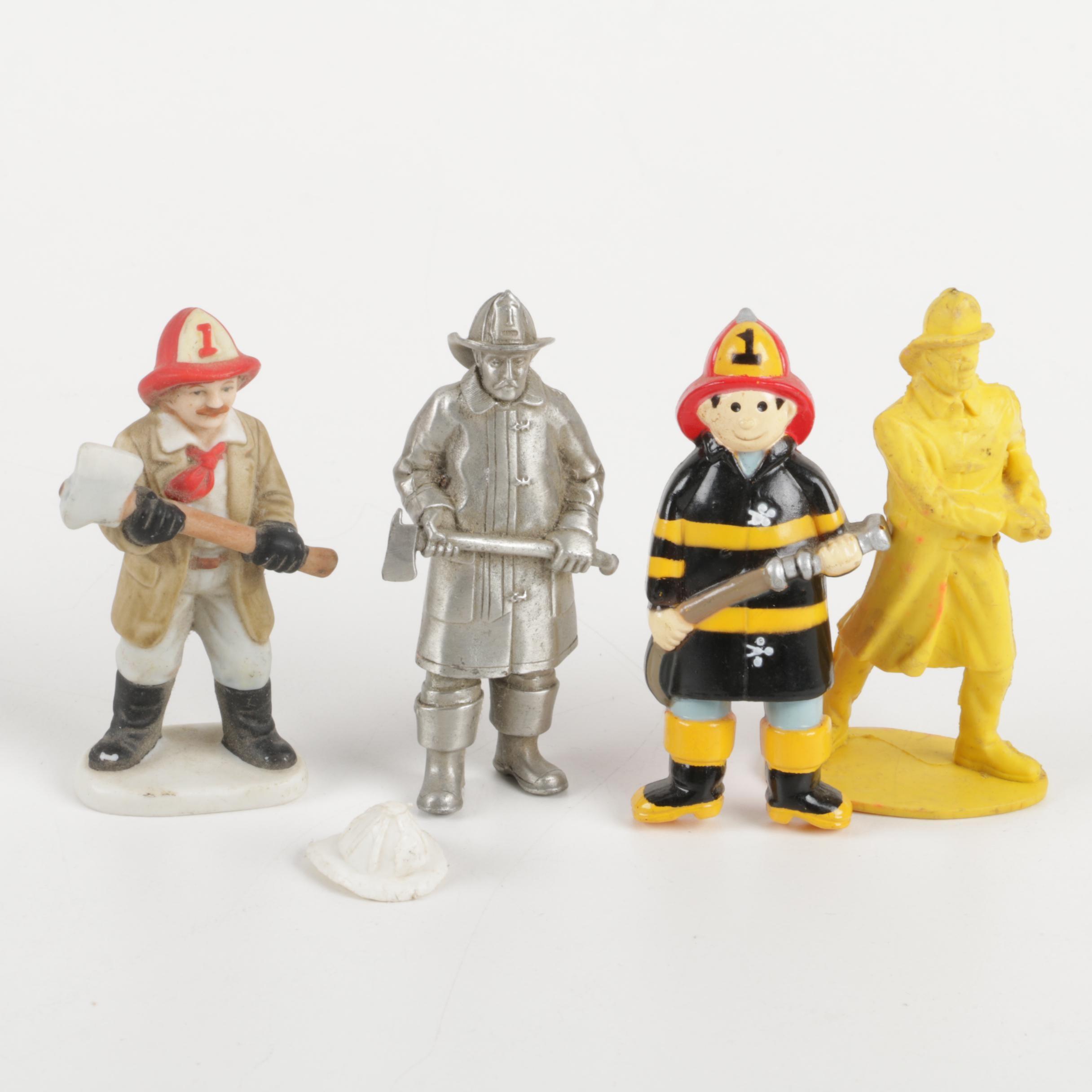Decorative Firefighter Figurines
