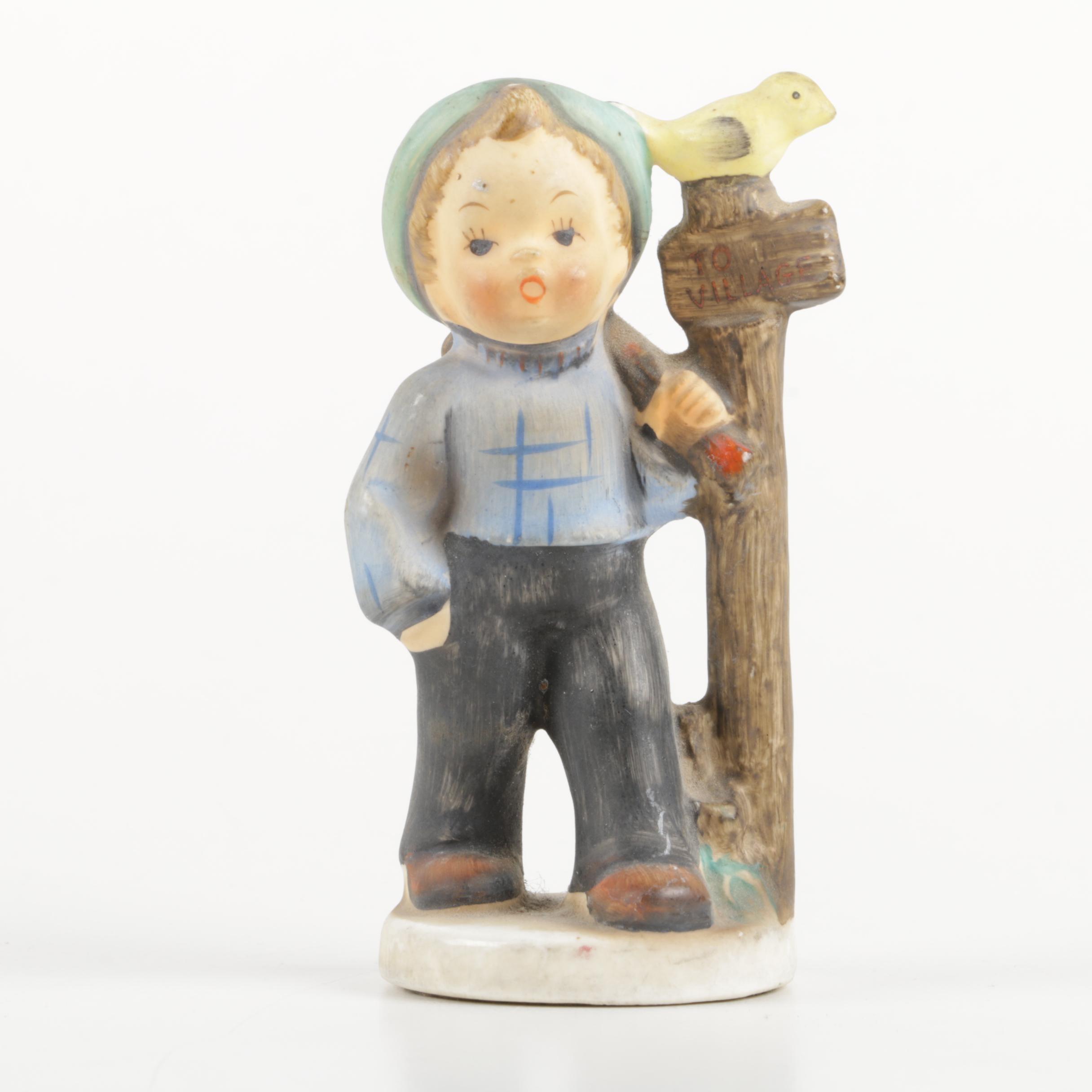 Hummel Figurine of Wandering Boy