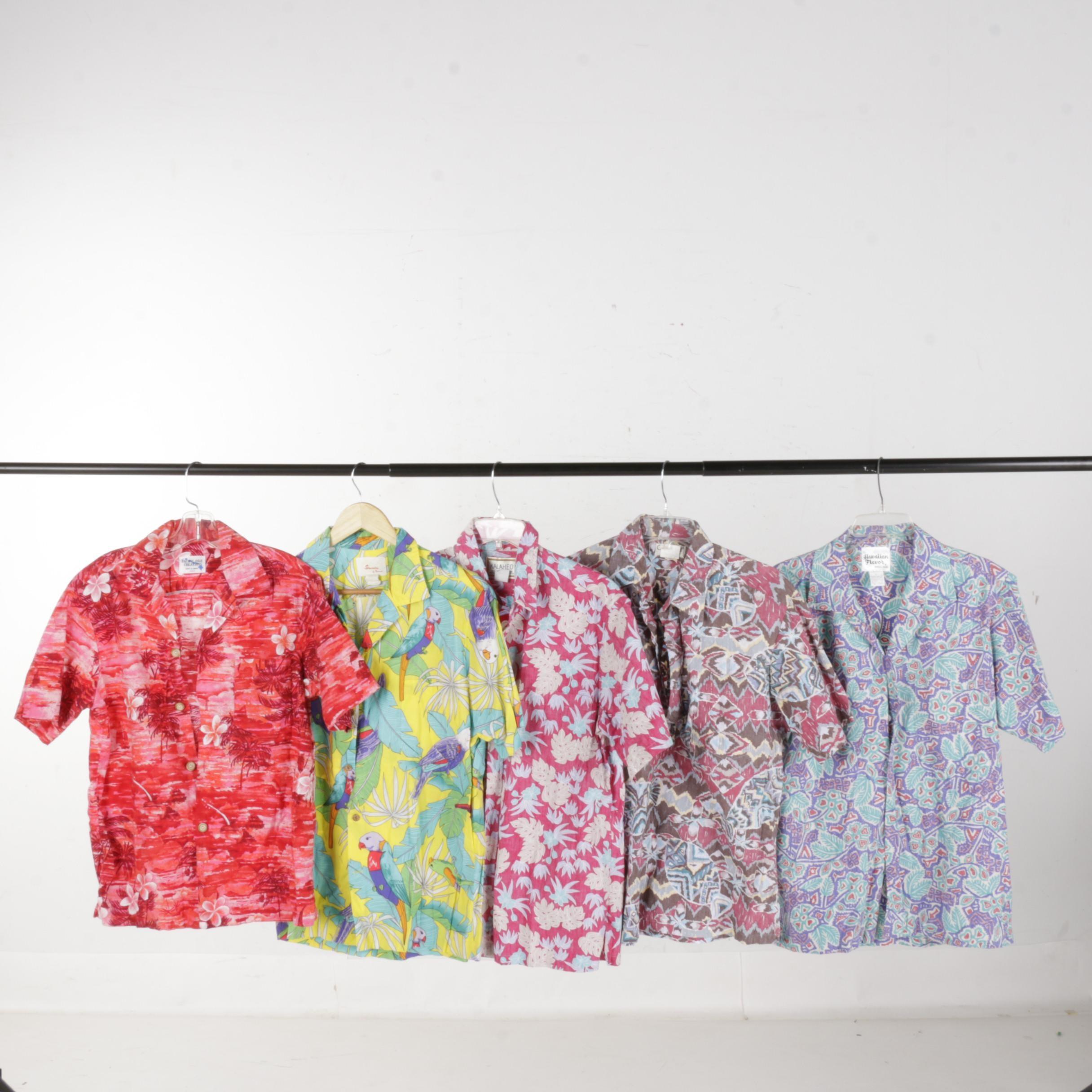 Vintage Men's Hawaiian Shirts