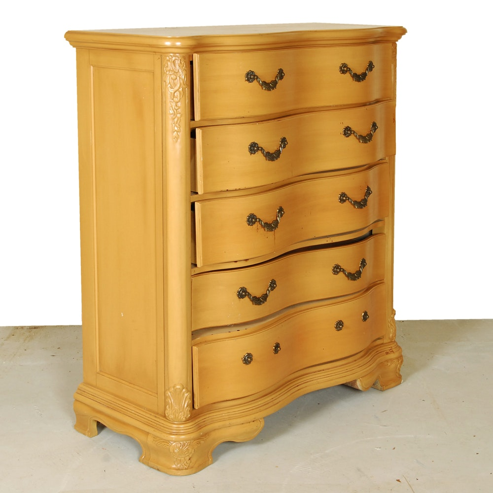 Maple Tone Painted Chest Of Drawers by Rivers Edge Furniture
