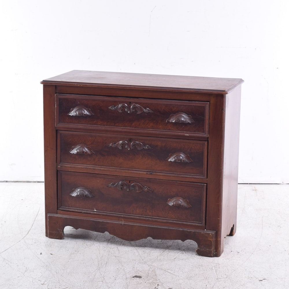 Rococo Revival Chest of Drawers