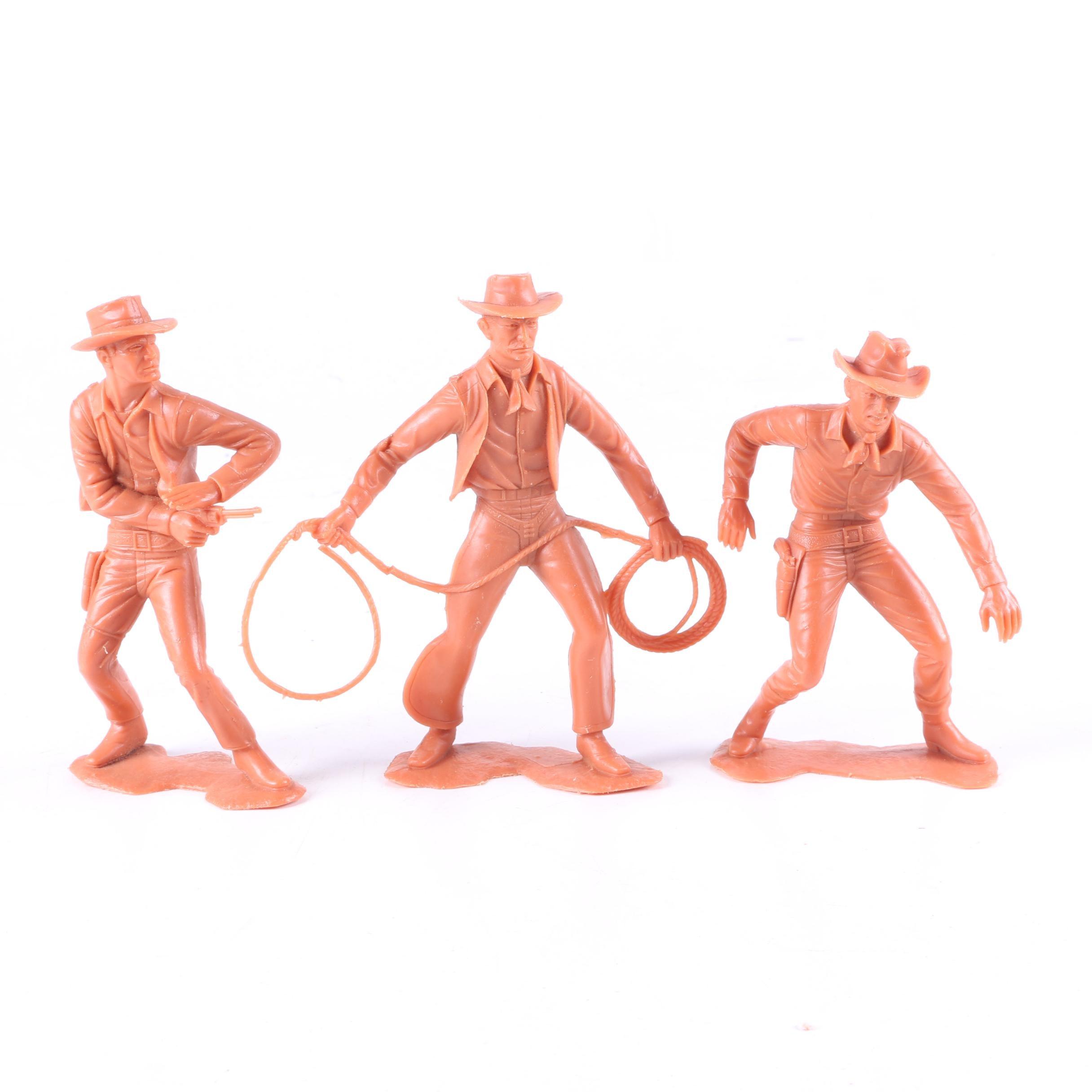 1964 Louis Marx & Co. Cowboy Figurines
