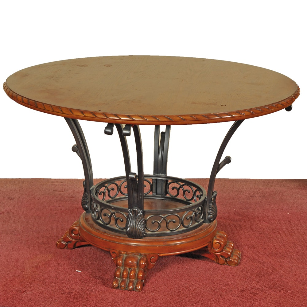 Claw Foot Round Dining Table