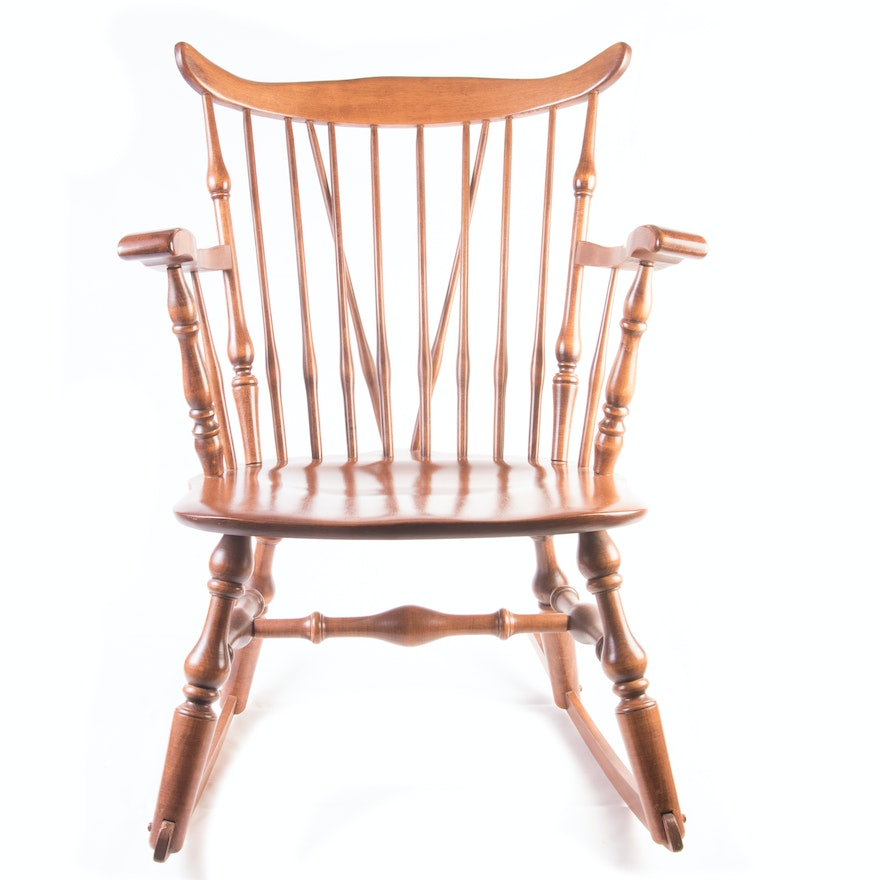 Prime Hale Furniture Company Duxbury Windsor Cherry Rocking Chair Pabps2019 Chair Design Images Pabps2019Com