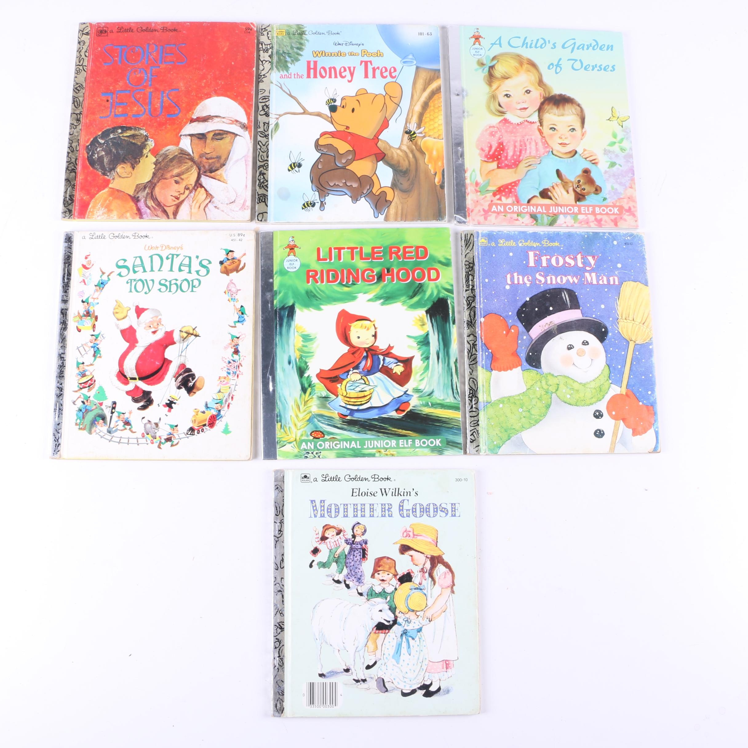 Children's Books Including Little Golden