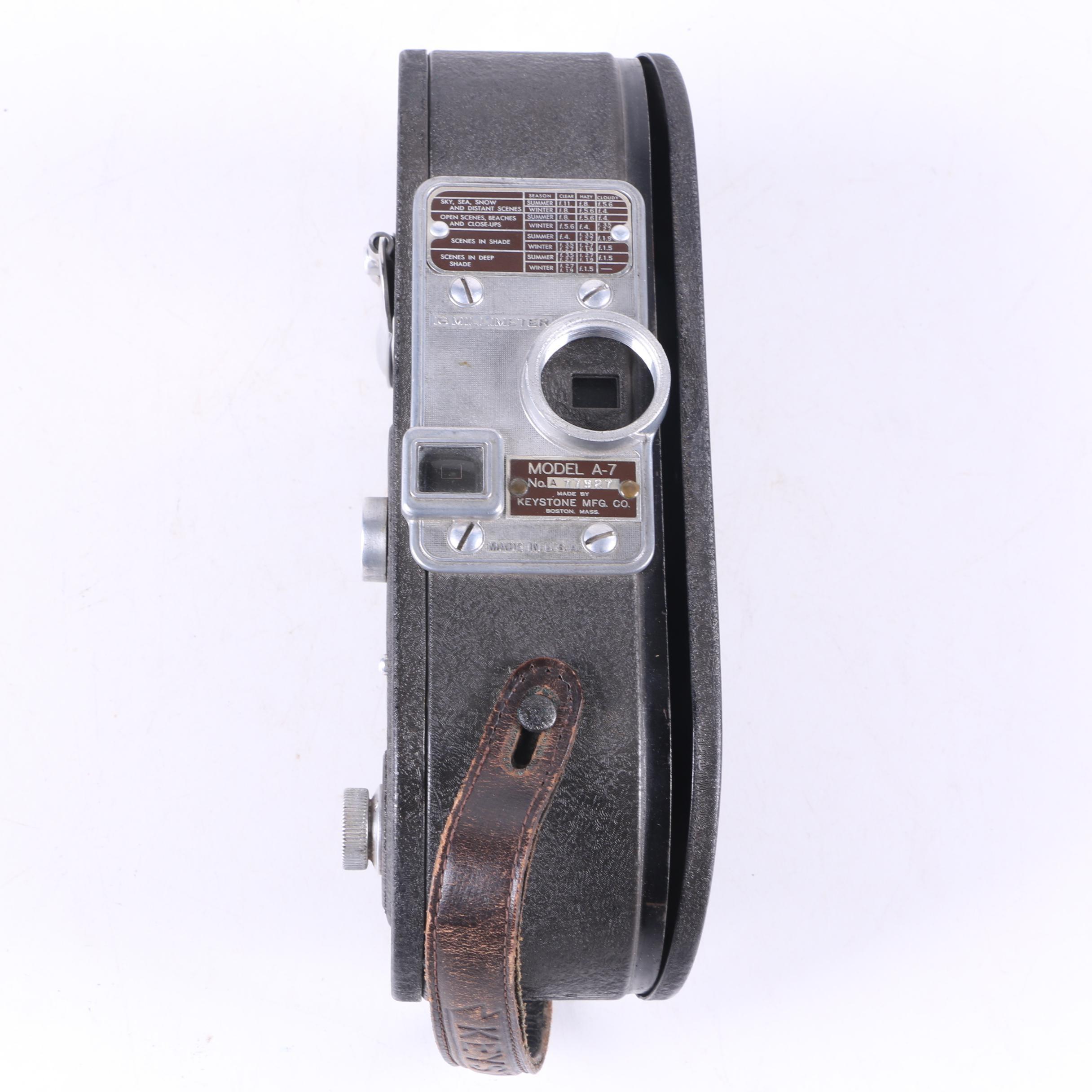 Vintage Keystone 16mm Movie Camera