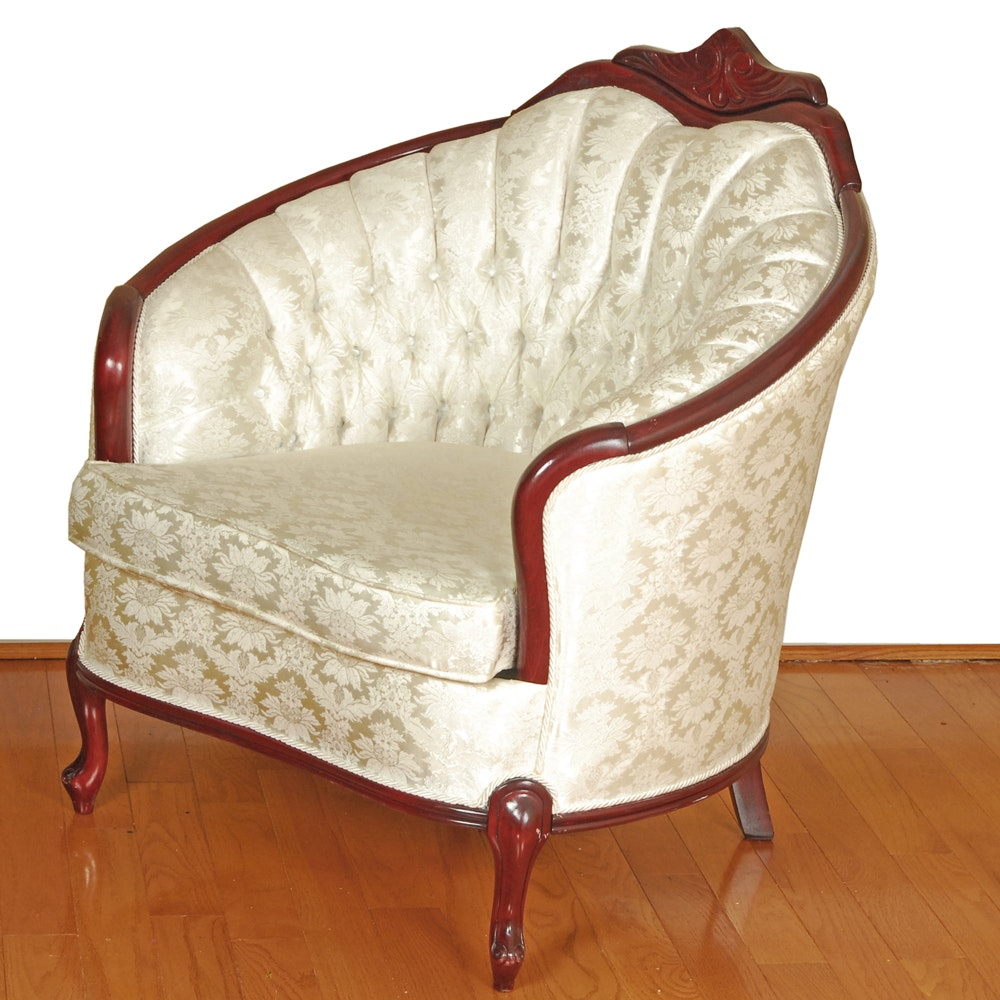 French Style Lounge Chair by Star Chesterfield