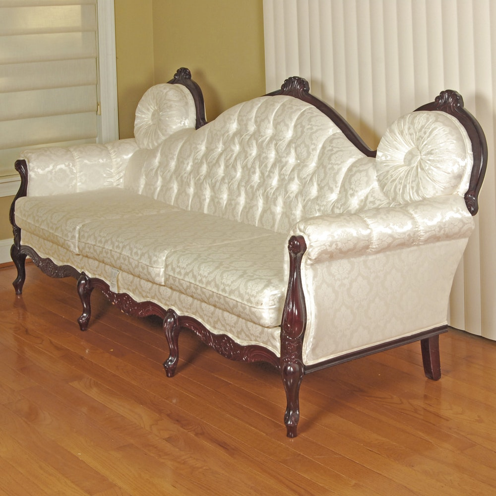 Louis XV Style Settee by Edgewood Furniture