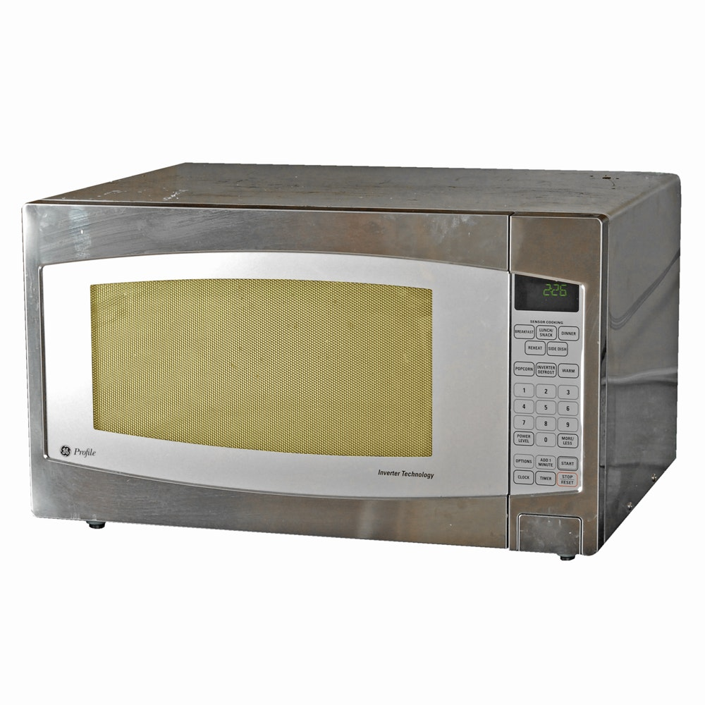 "GE ""Profile Series"" Countertop Microwave"