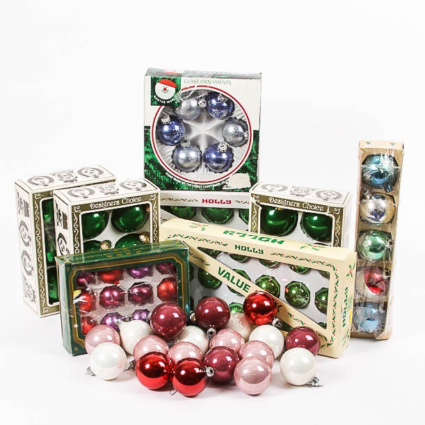 Collection of Vintage Christmas Ornaments