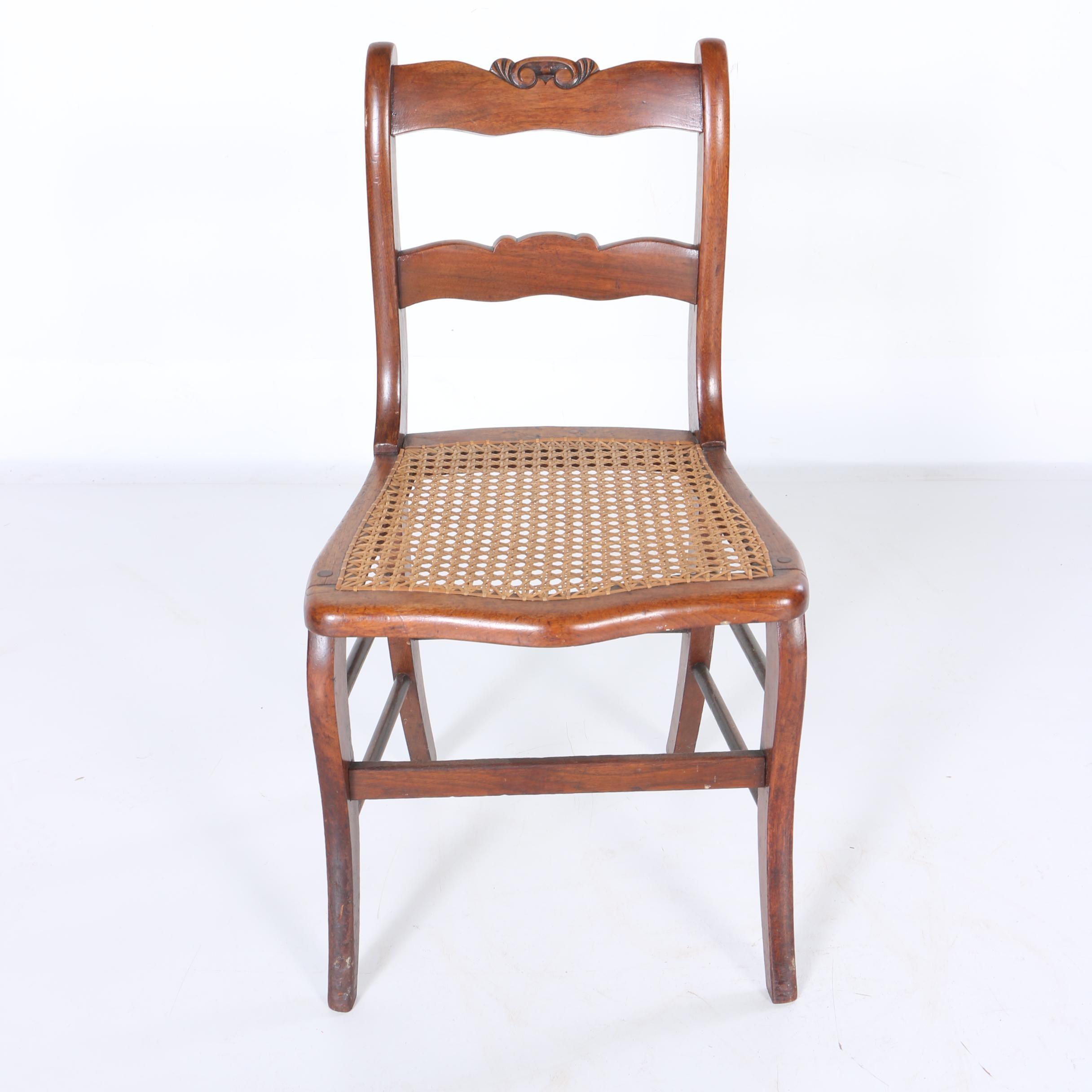 Mid-Victorian Walnut Side Chair