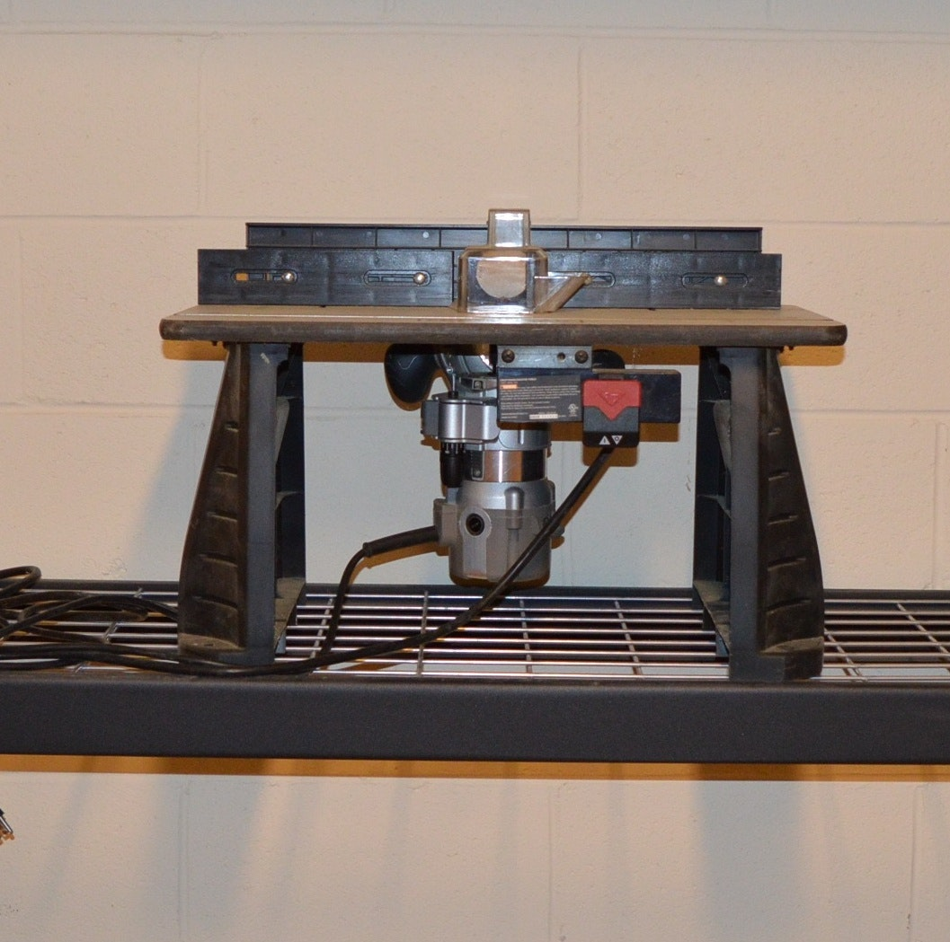 Craftsman Router Table and Router