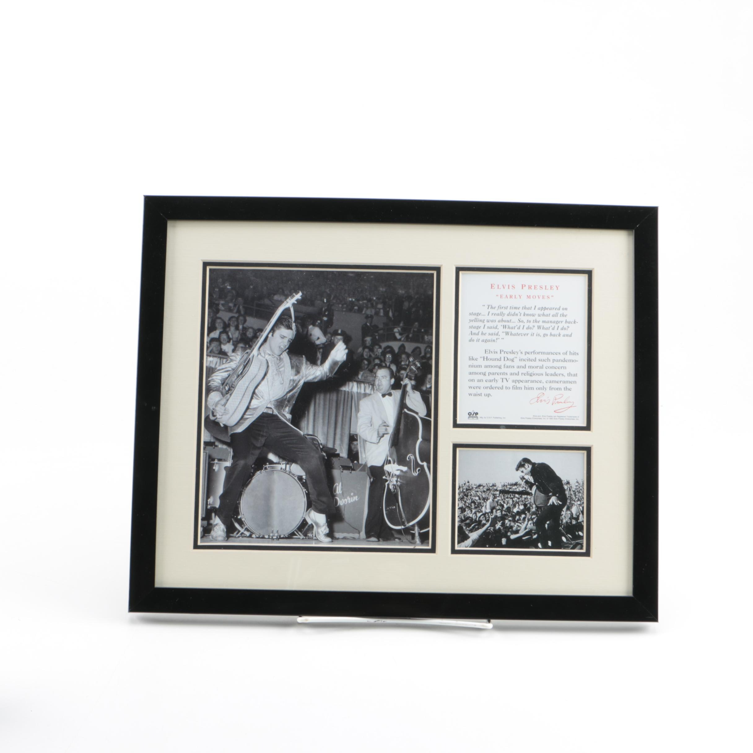 Elvis Presley Special Collector's Edition Framed Prints From O.S.P. Publishing