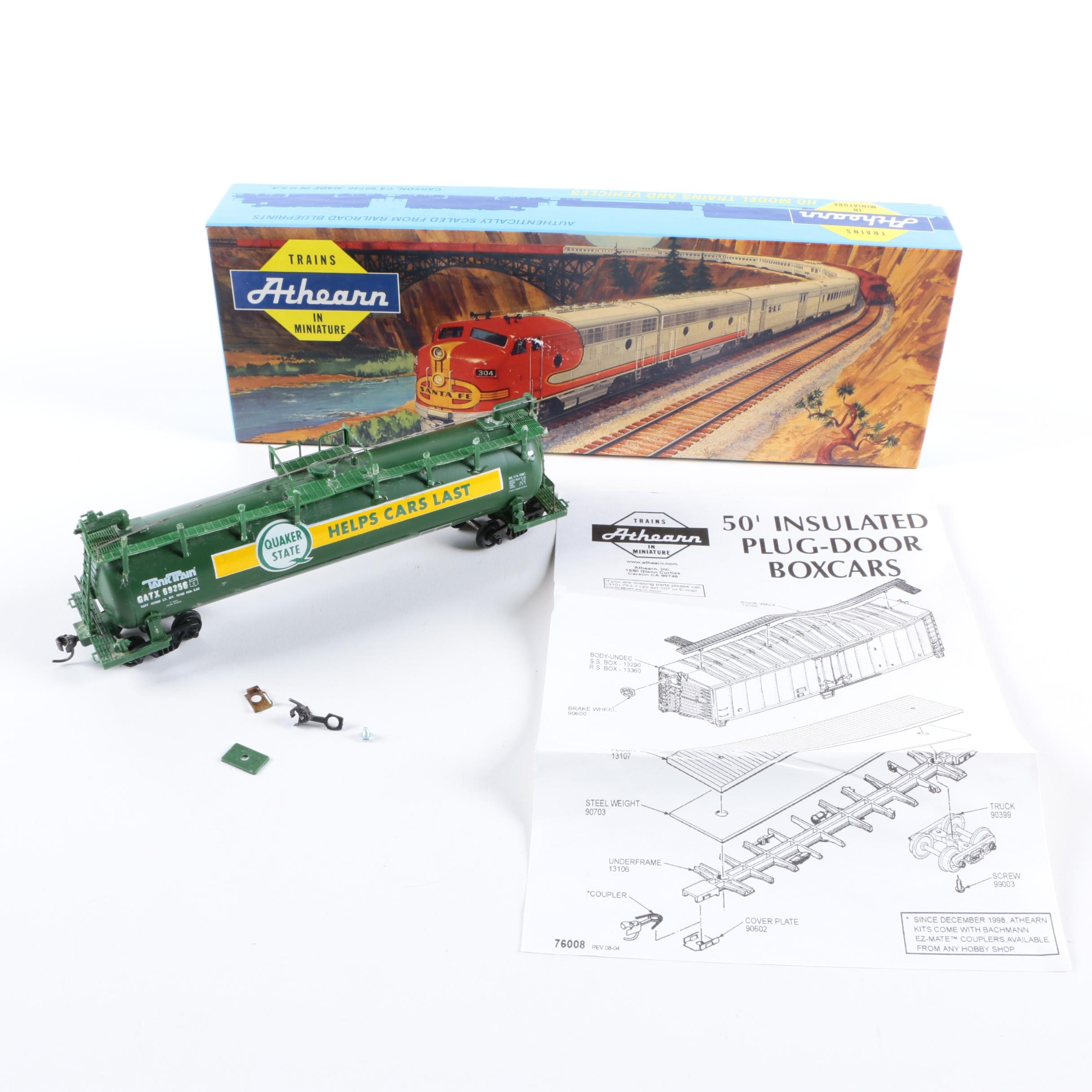Roundhouse HO Scale Tank Car