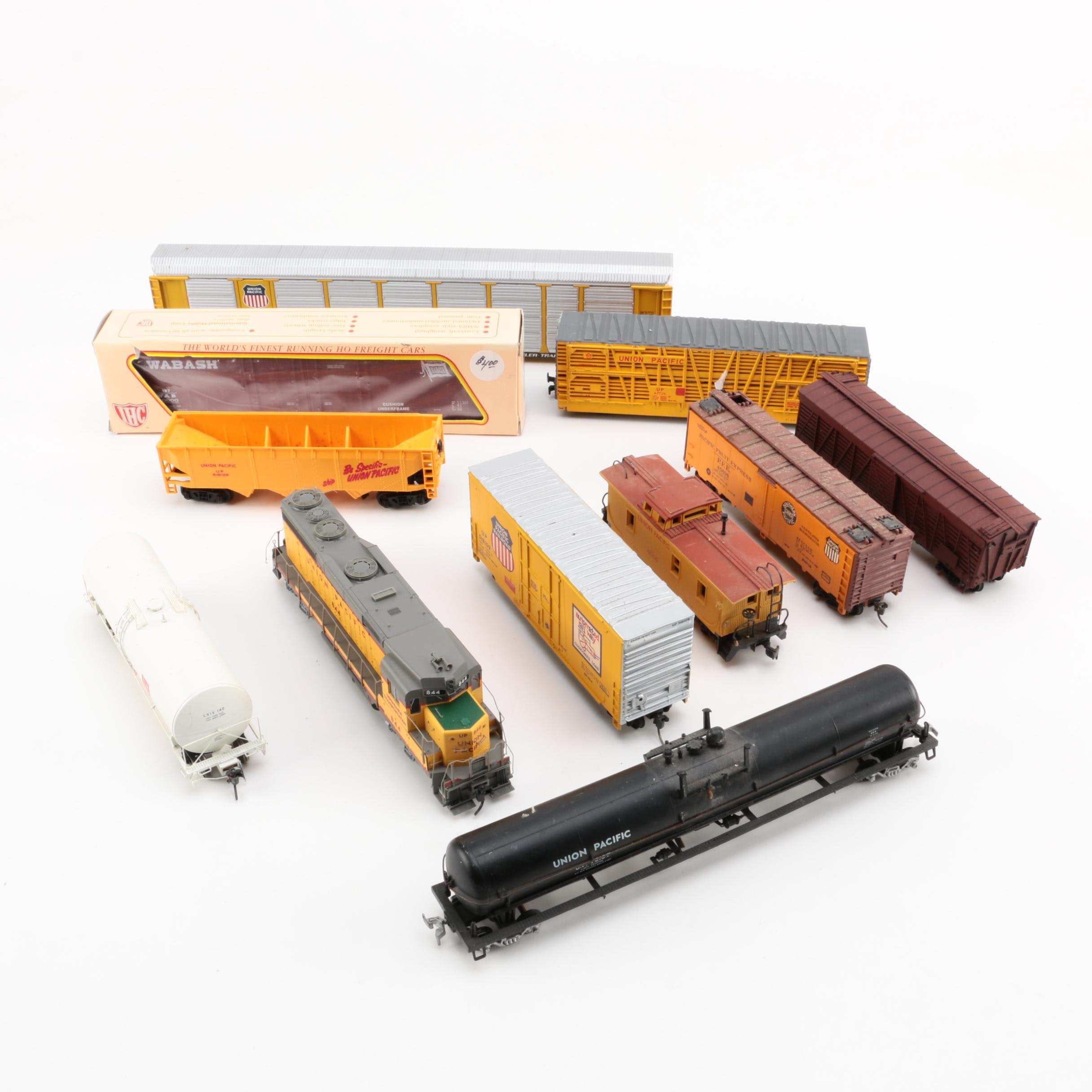 Union Pacific HO Scale Train Set Assortment