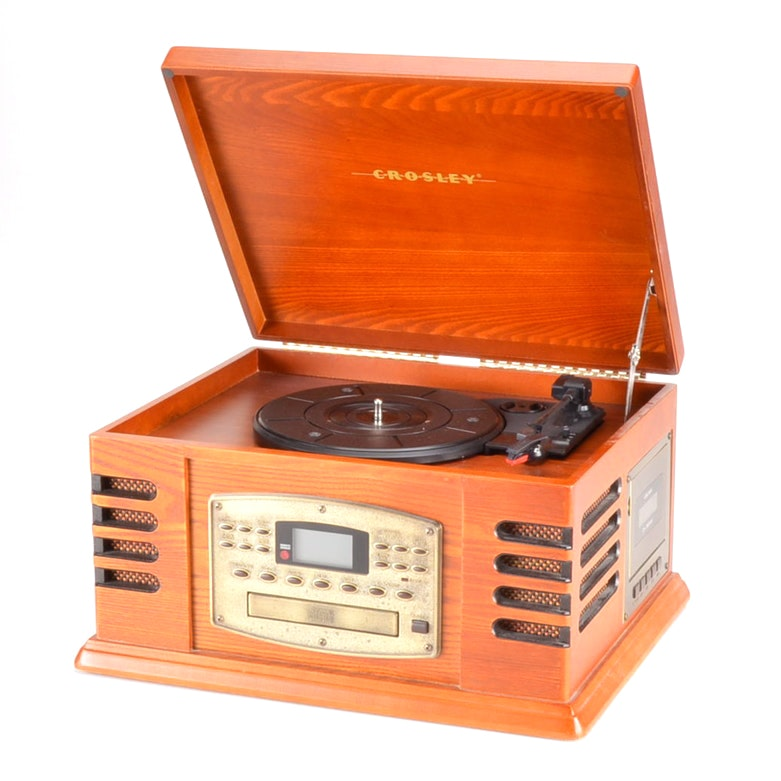 Crosley CR79 4-In-1 Player