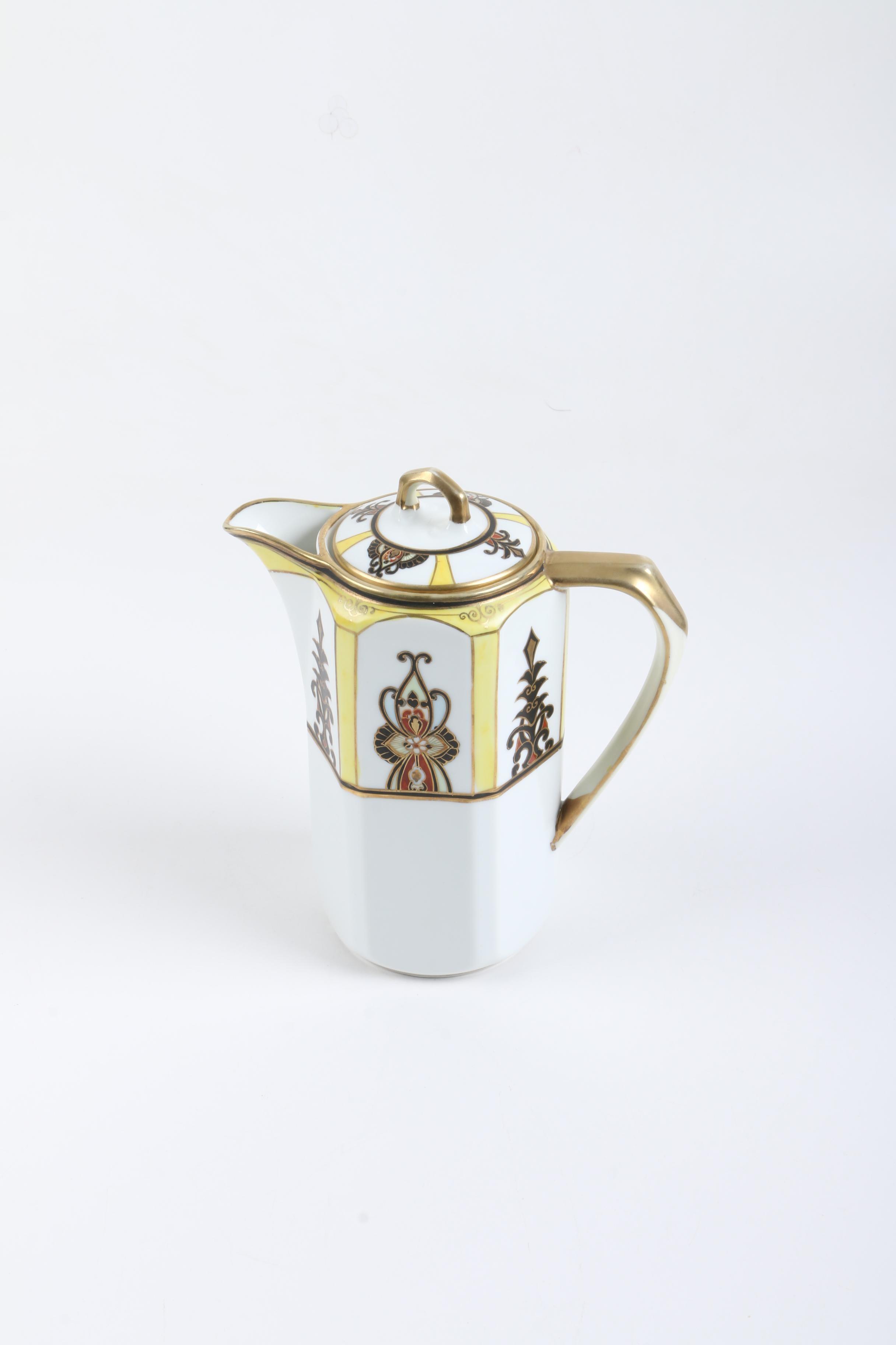 Nippon Porcelain Coffee Pot