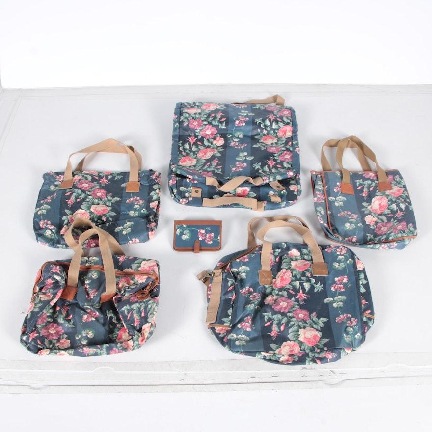 7d63875dd848 Floral Luggage Set by Laura Ashley   EBTH