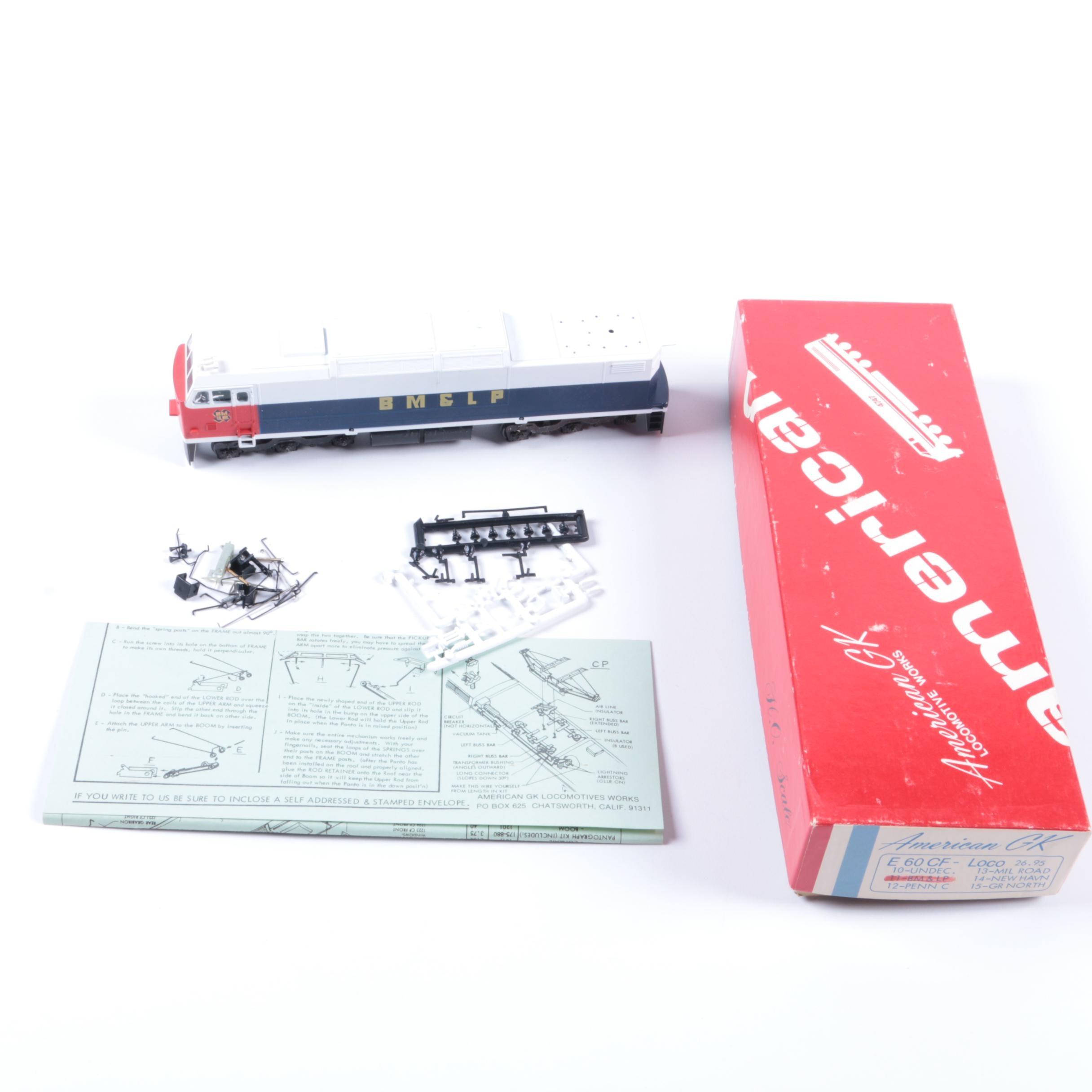 BM&LP Engine Model Kit by American GK
