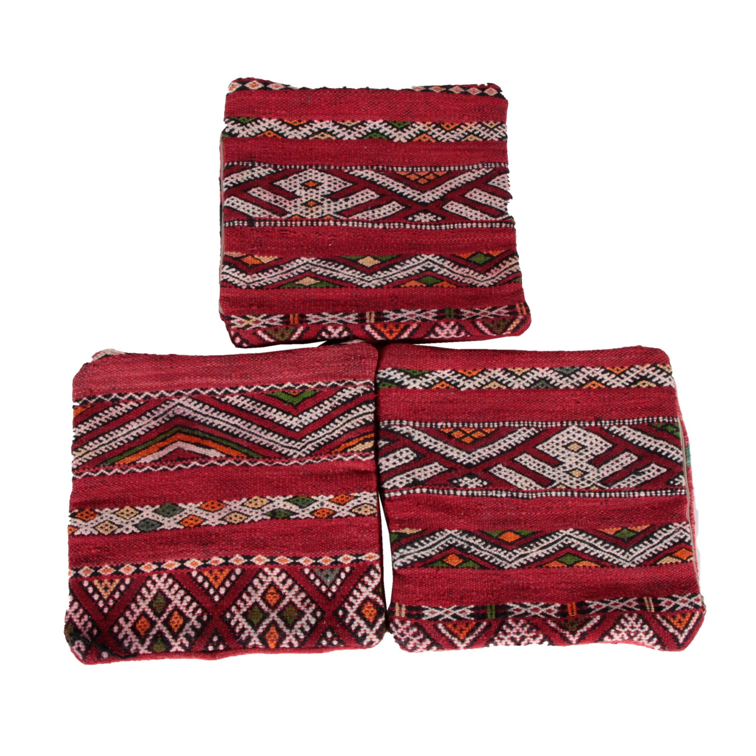 Woven Wool Pillowcases