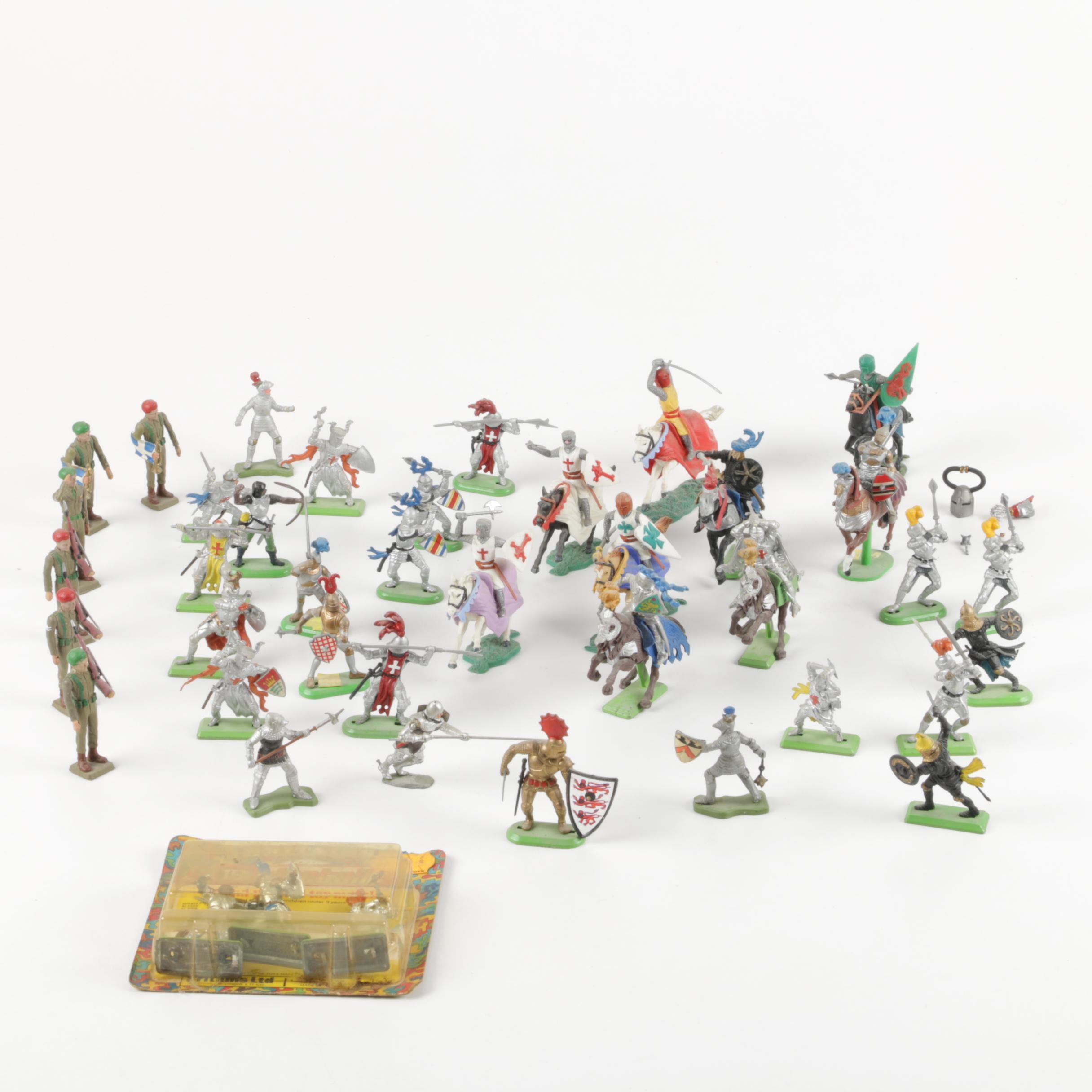 Assortment of Knights in Armor Figurines