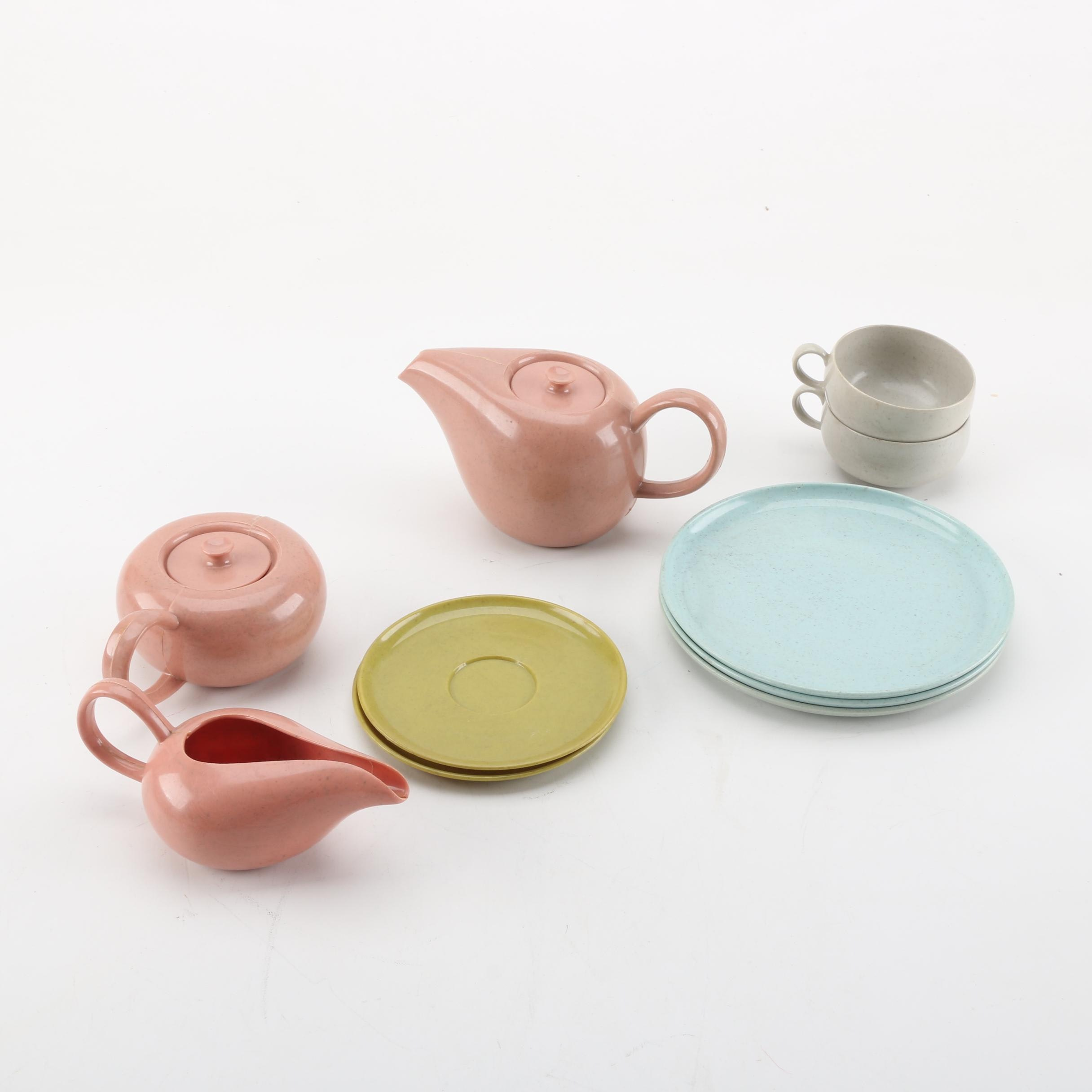 Collection of Russell Wright Melamine Tableware