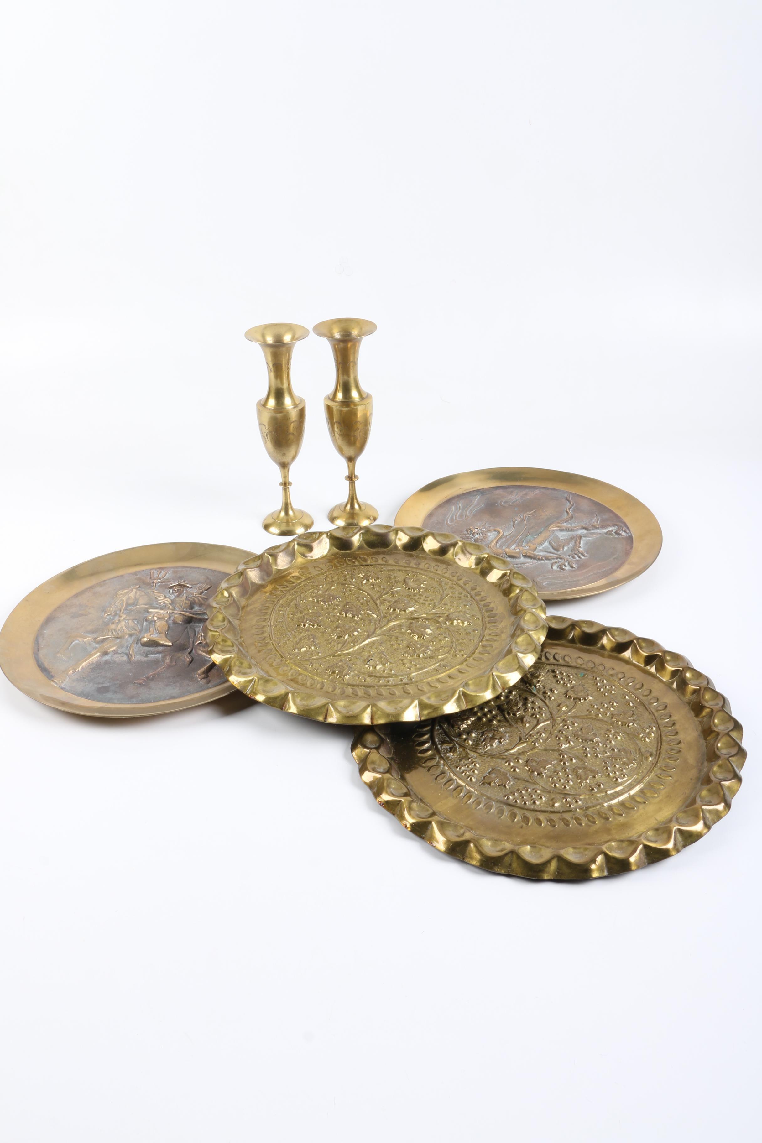 Assorted Brass Décor