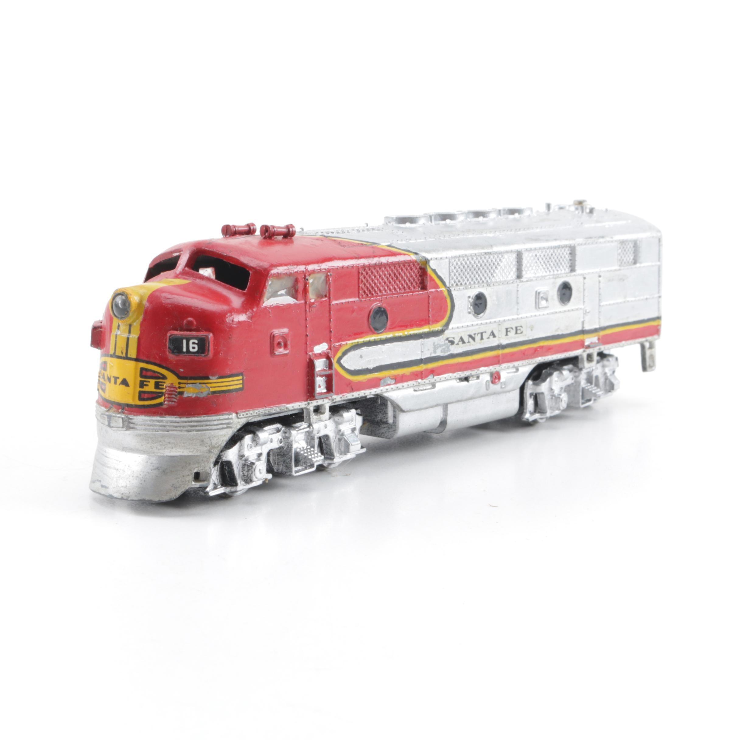 Varney Santa-Fe Diesel Engine