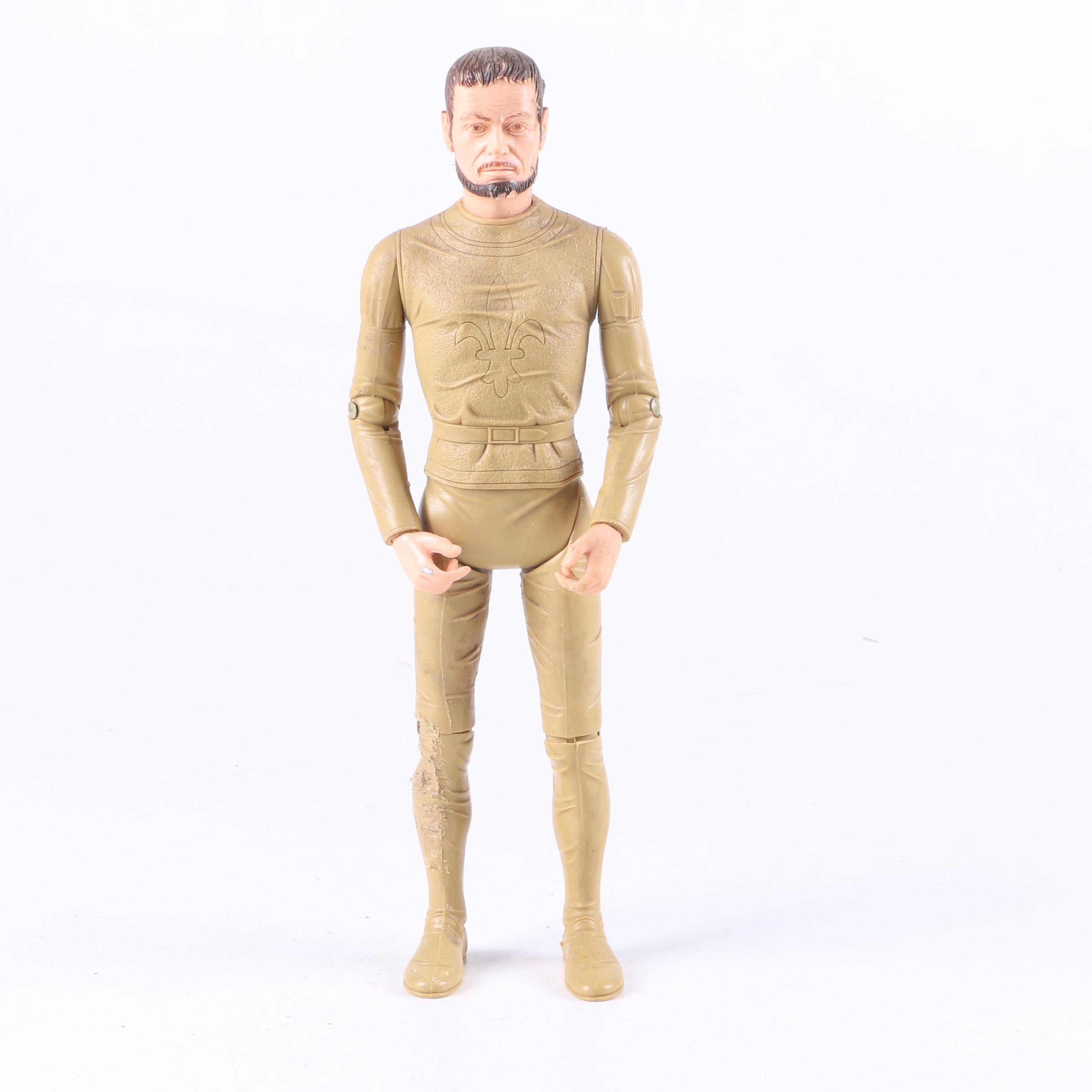 1960s Marx Sir Gordon the Golden Knight Figure