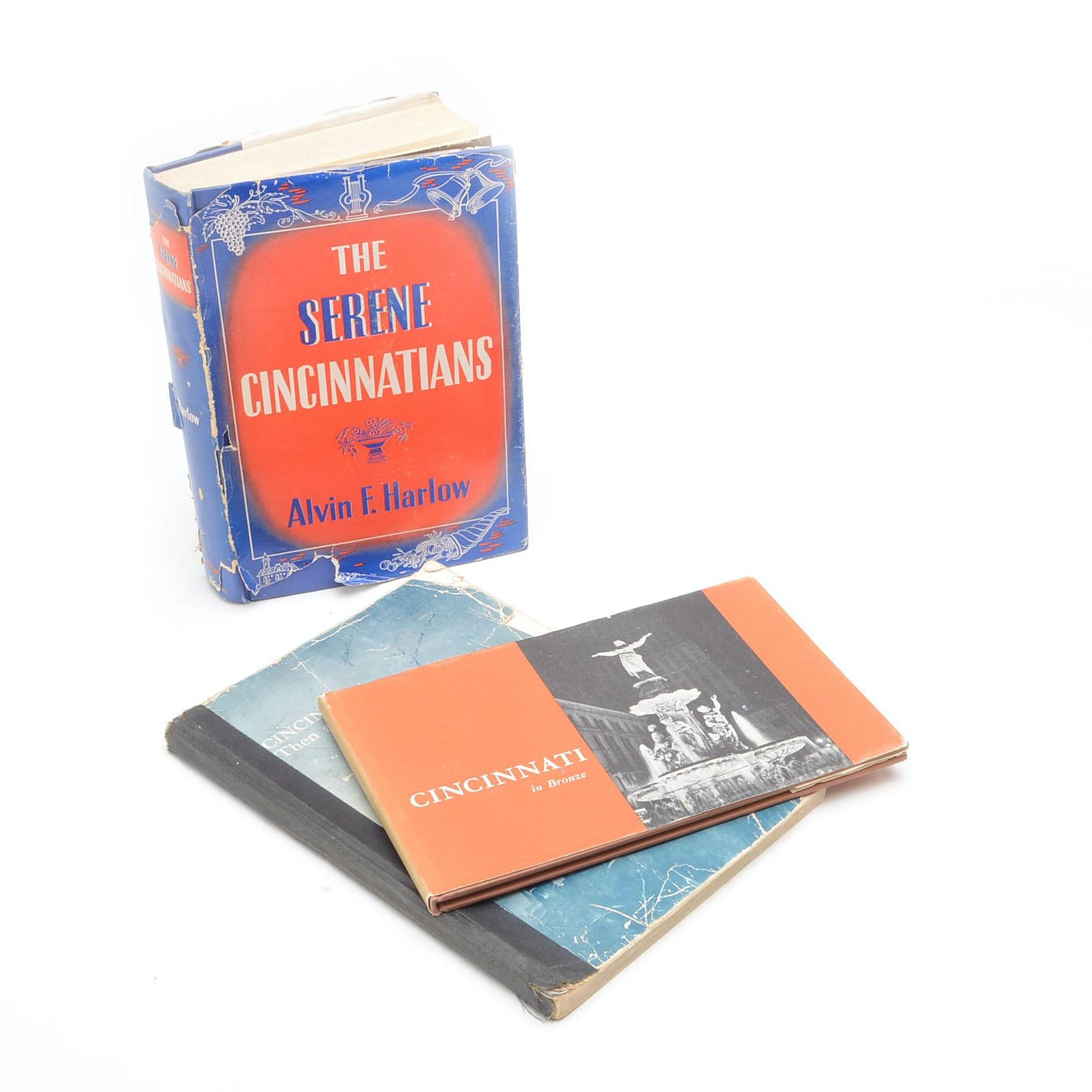 Collection of Vintage Books on Cincinnati