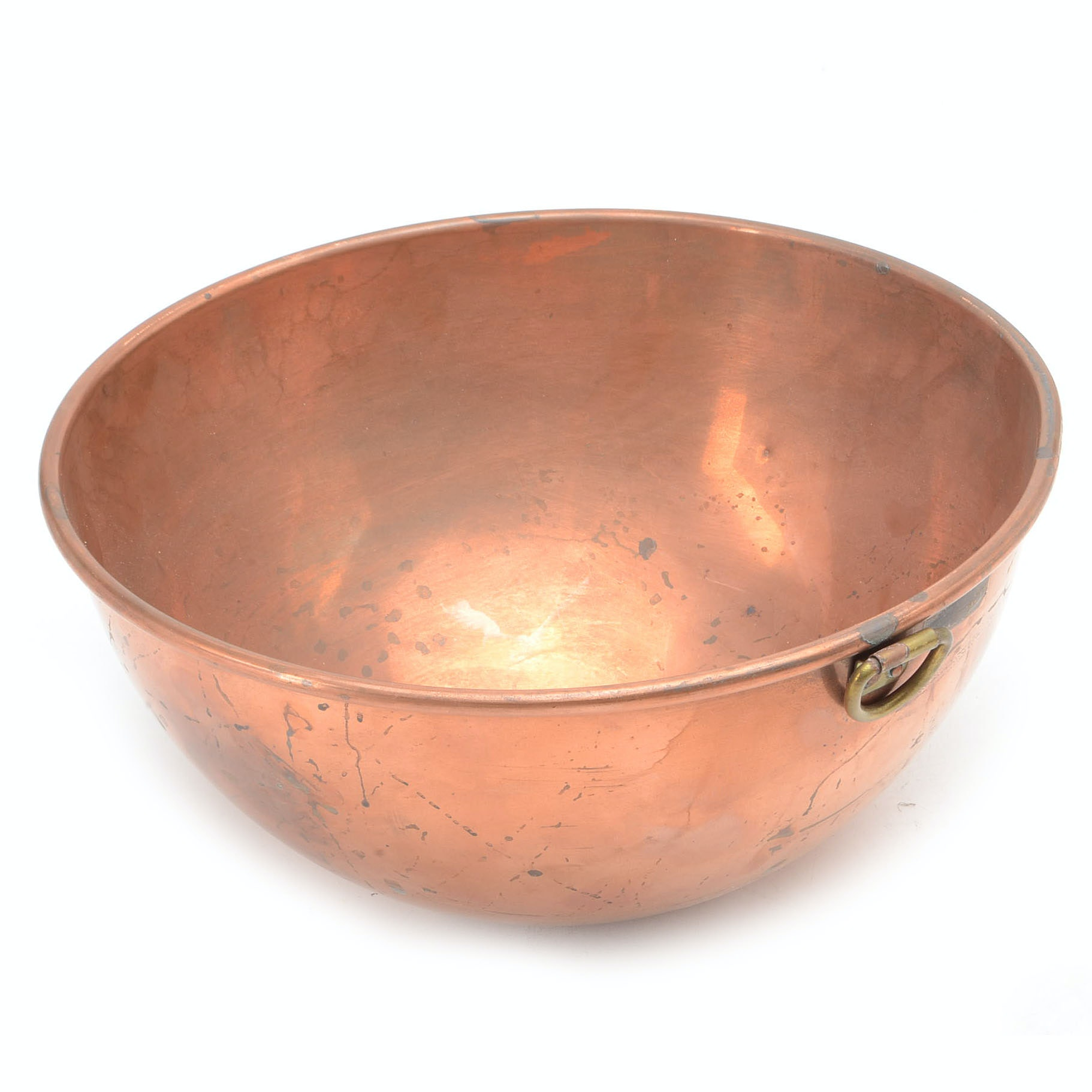 Vintage Benjamin & Medwin Copper Mixing Bowl