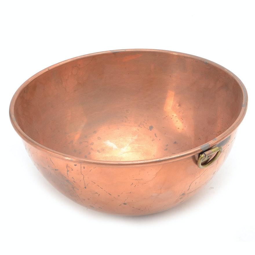 Vintage Benjamin & Medwin Copper Mixing Bowl : EBTH
