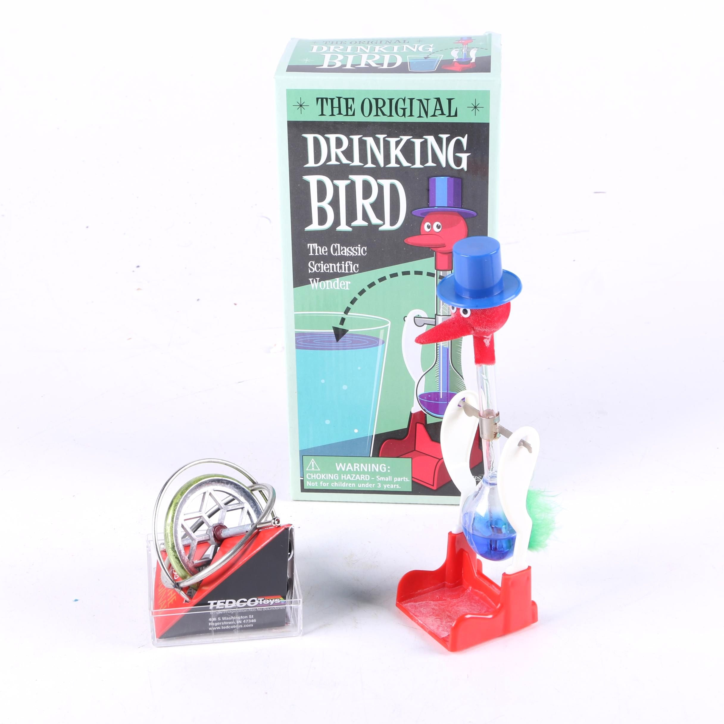 Drinking Bird and Top
