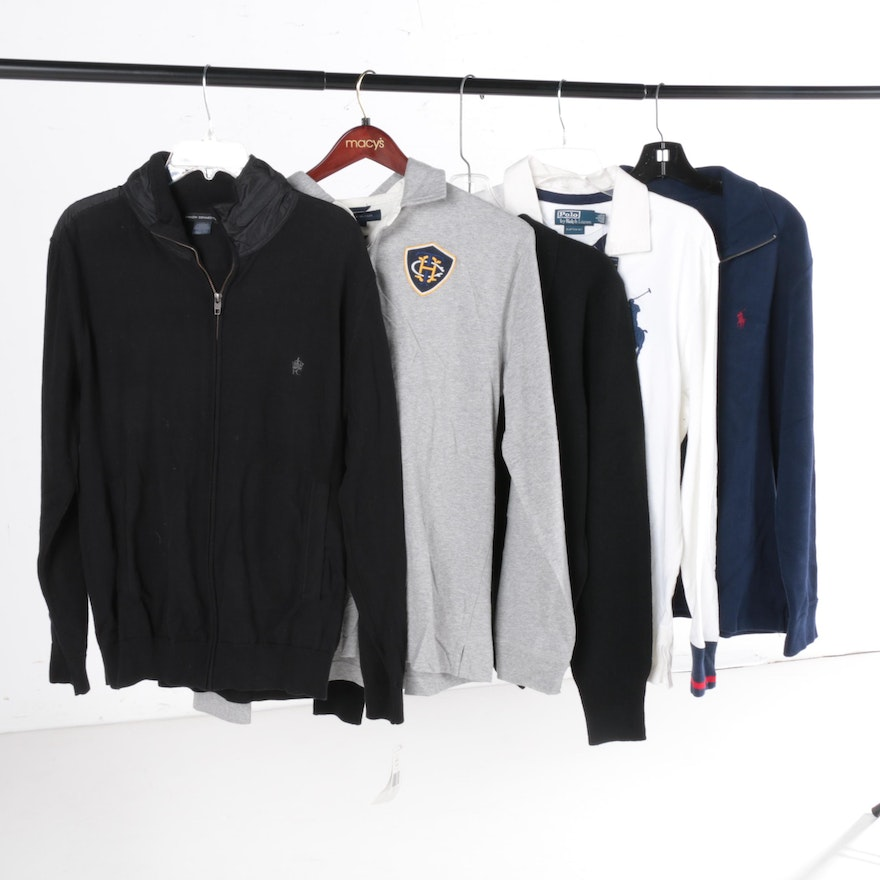 de4b9f9b Men's Ralph Lauren and Tommy Hilfiger Sweaters and Pull Overs : EBTH