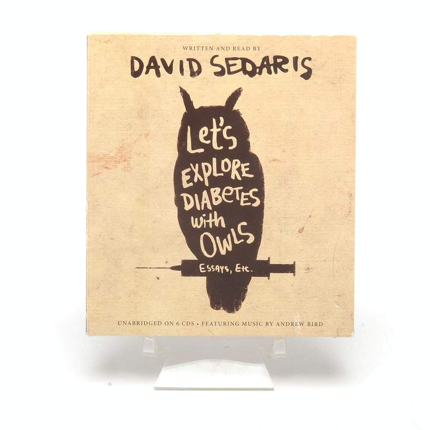 series of david sedaris essays on cd ebth series of david sedaris essays on cd