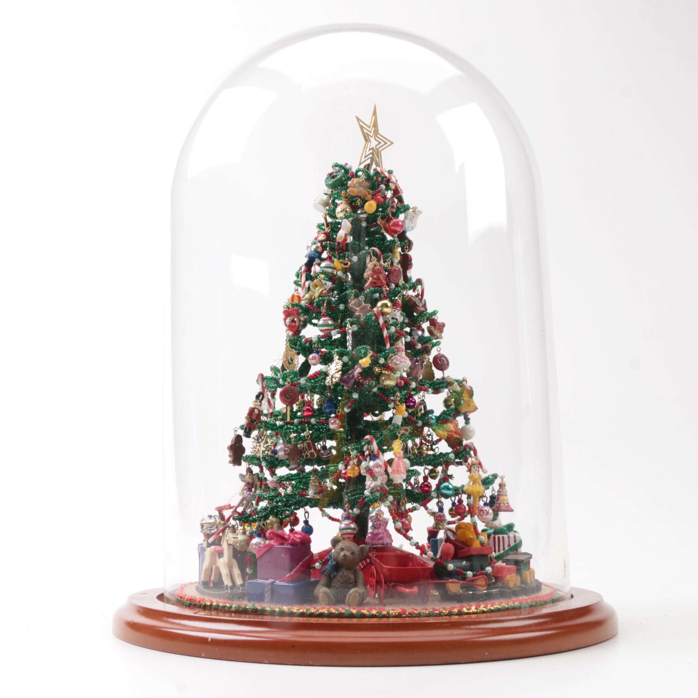 Decorative Beaded Christmas Tree