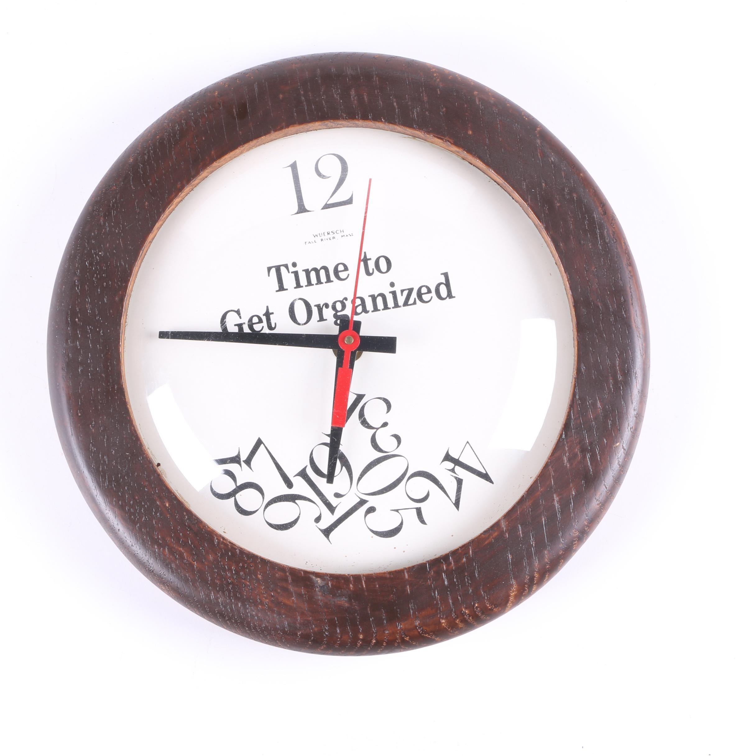 Wuersch Wall Clock