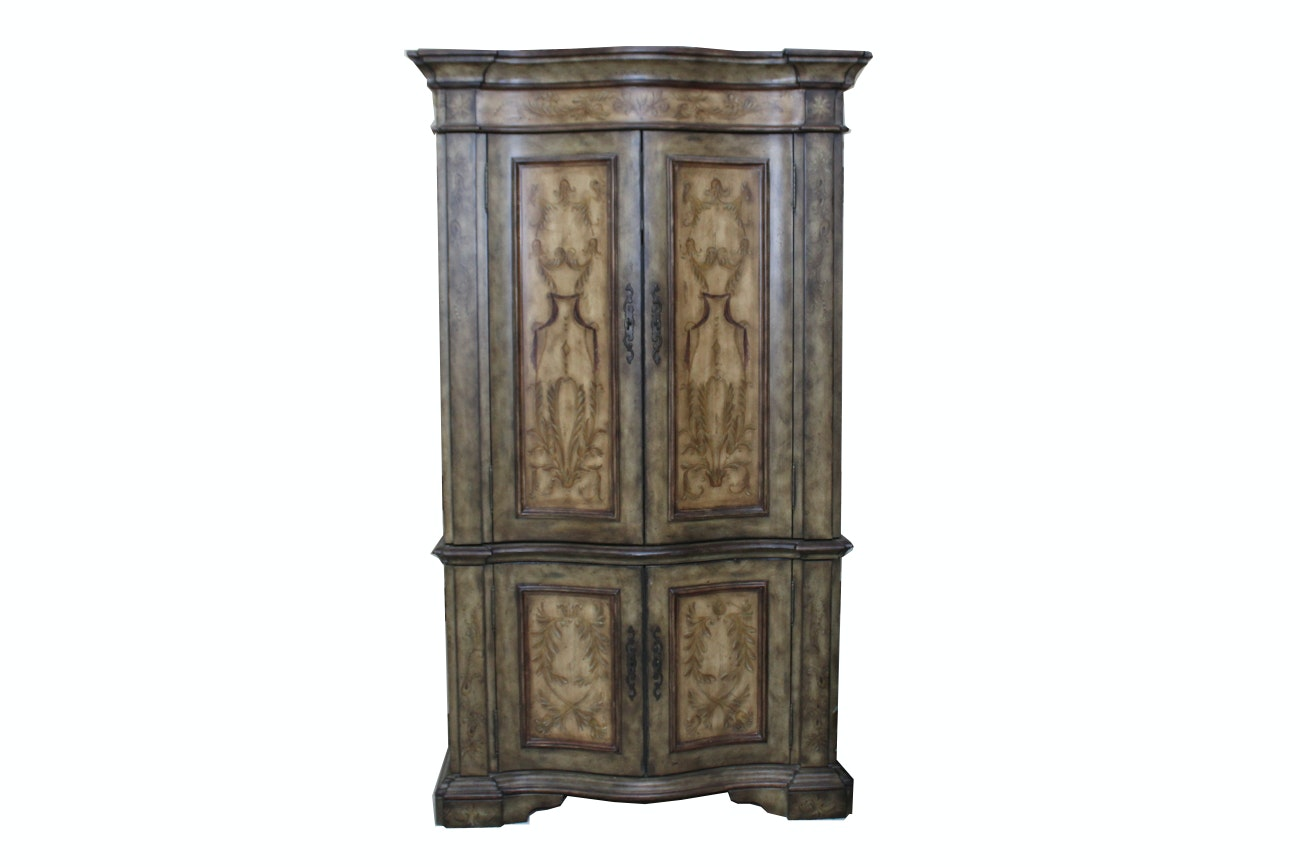 Superieur Hooker Furniture Seven Seas Curved Armoire ...