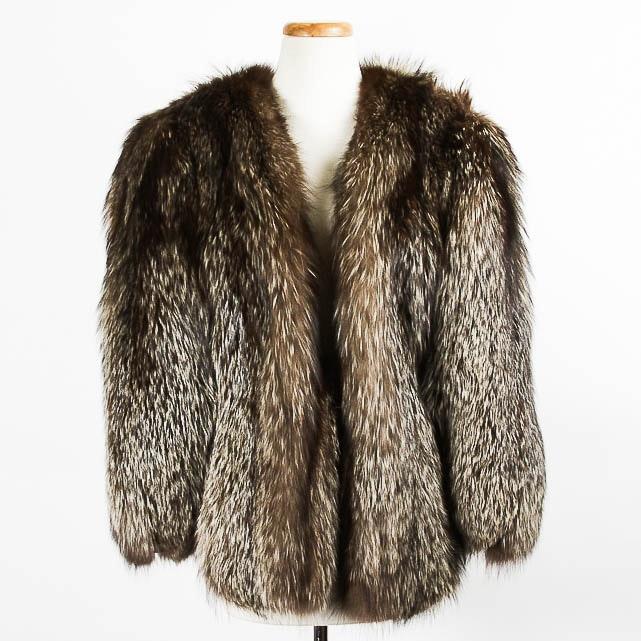 Vintage Fox Fur Shawl