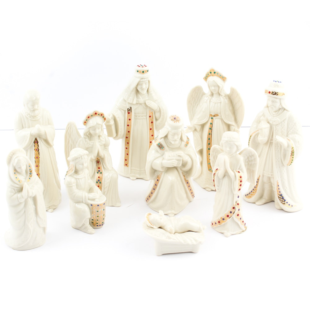Lenox Nativity Figurines