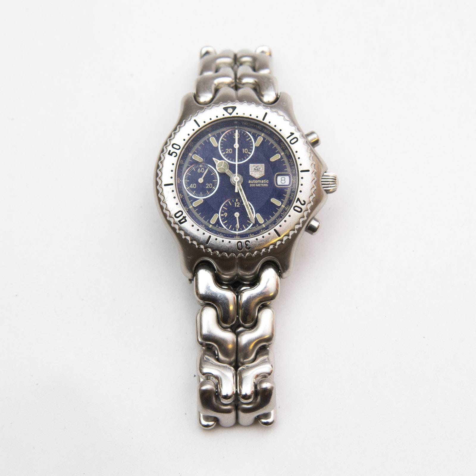 TAG Heuer Stainless Steel Chronograph Wristwatch