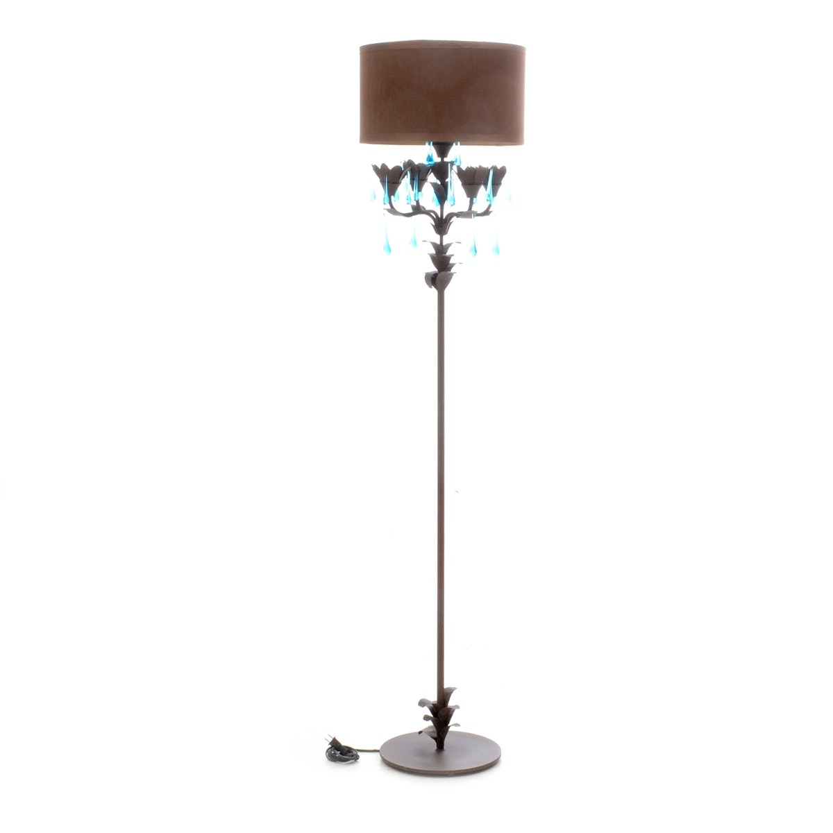chandelier style floor lamp