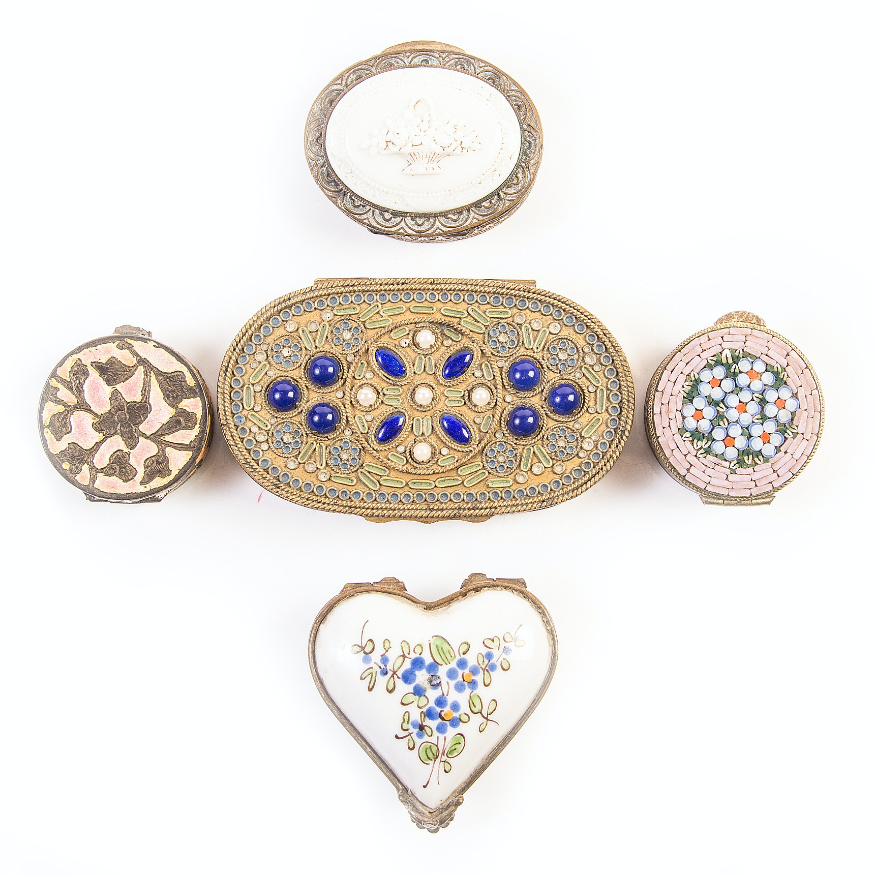 Vintage Compact and Pill Box Collection